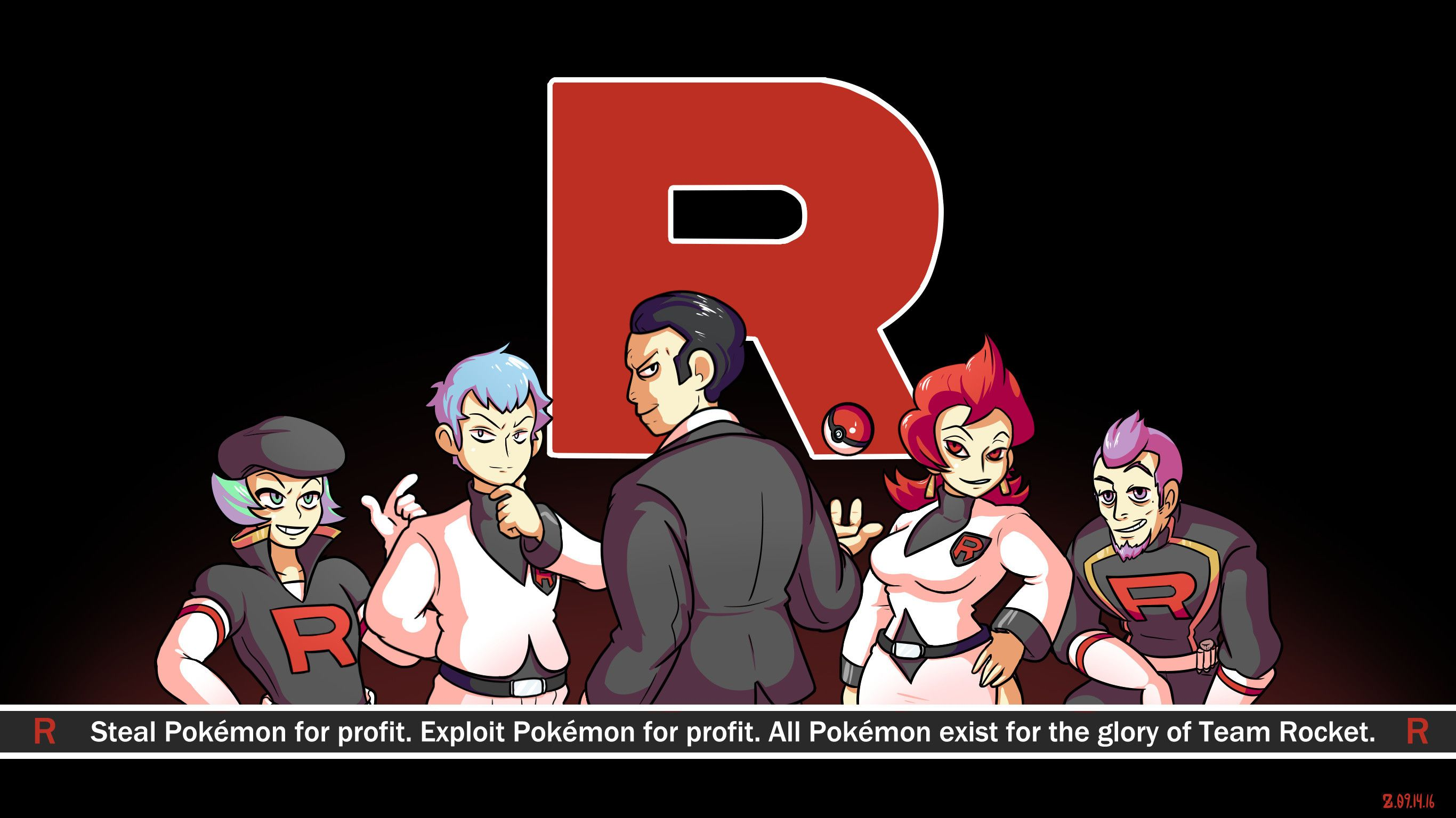2732x1536 76+ Team Rocket Wallpapers on WallpaperPlay