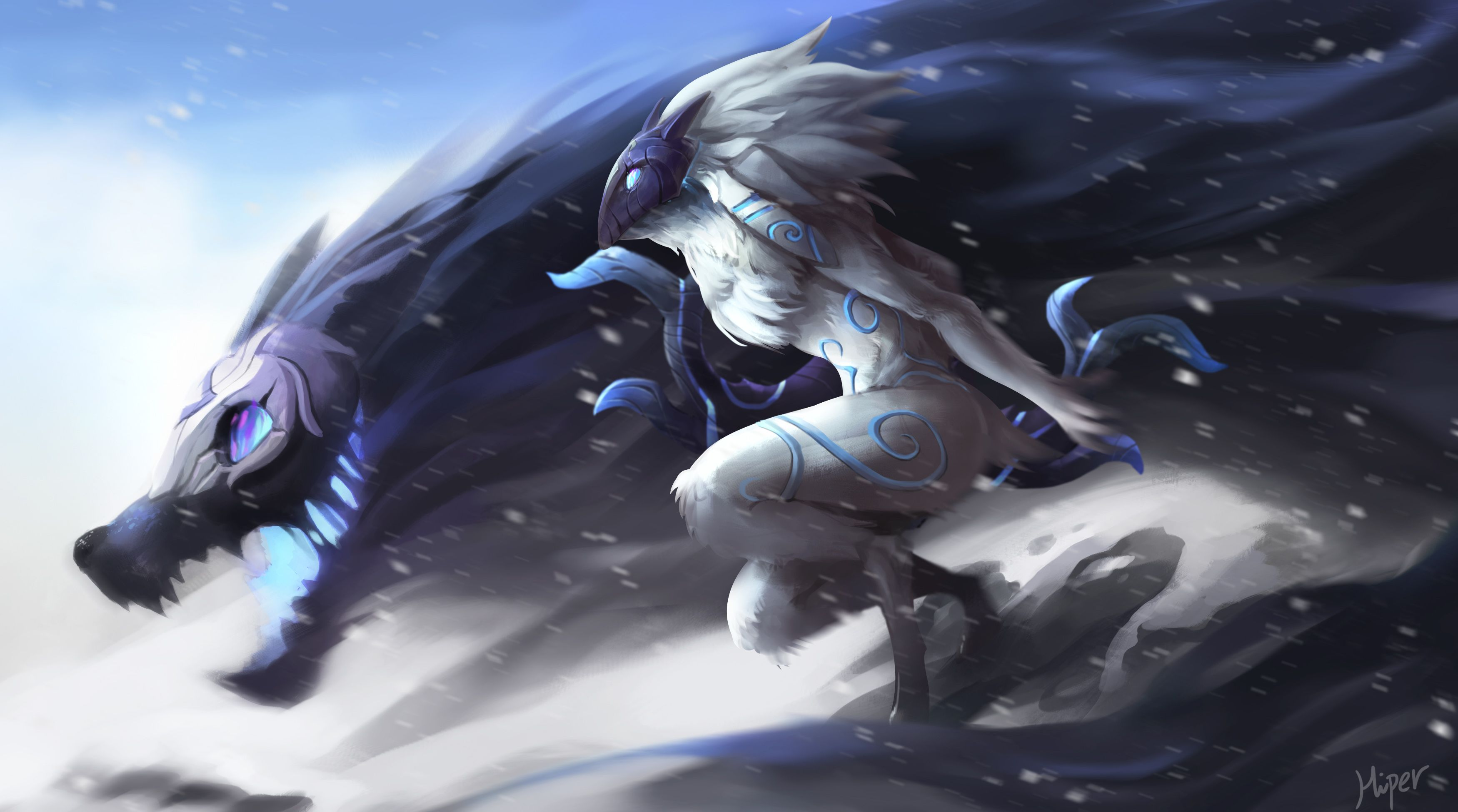 3500x1950 3528 League Of Legends HD Wallpapers | Background Images - Wallpaper ...