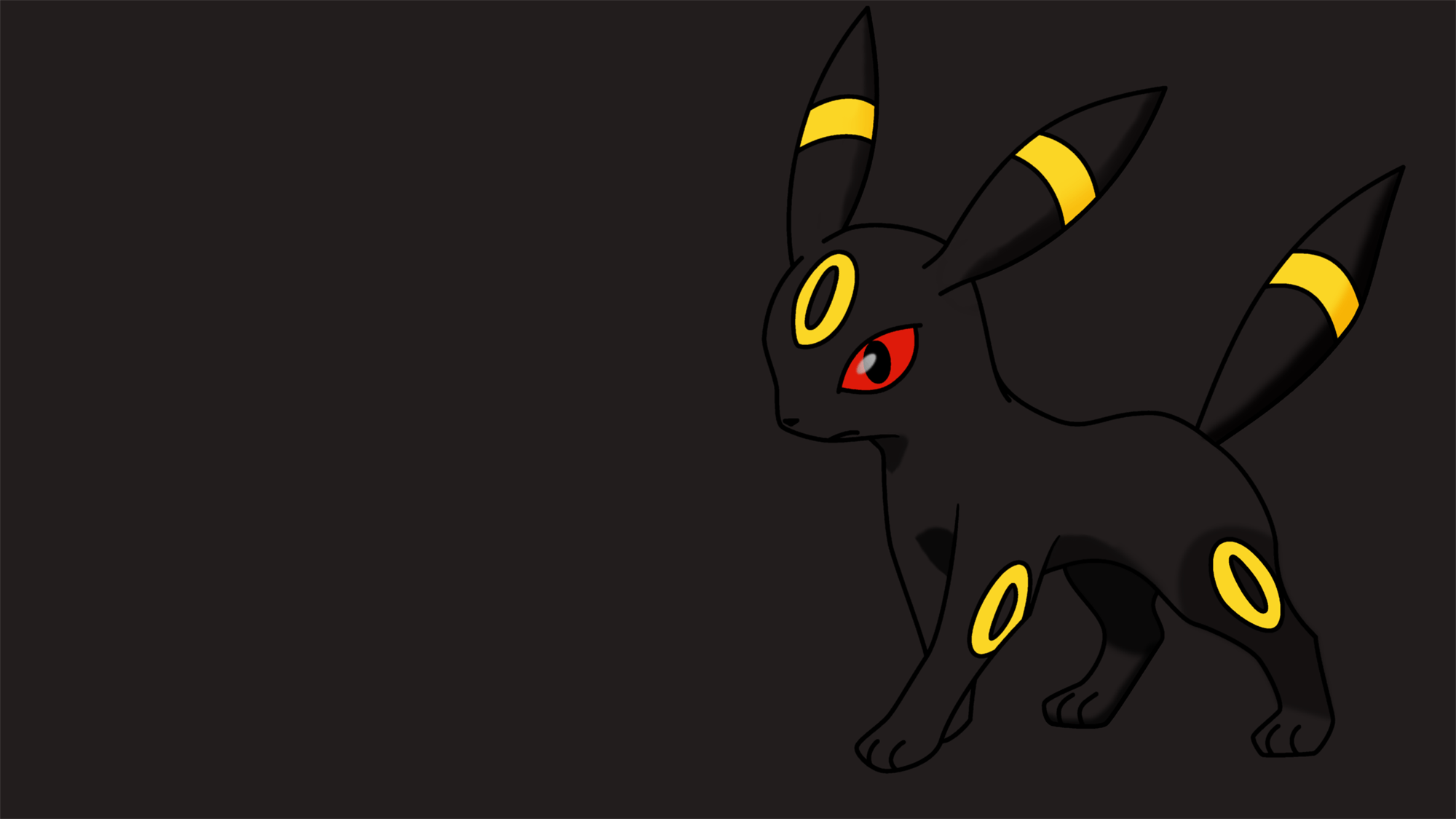 2000x1125 43 Umbreon (Pokémon) HD Wallpapers   Background Images - Wallpaper Abyss
