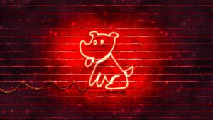 Neon Dog Wallpapers – Top Free Neon Dog Backgrounds