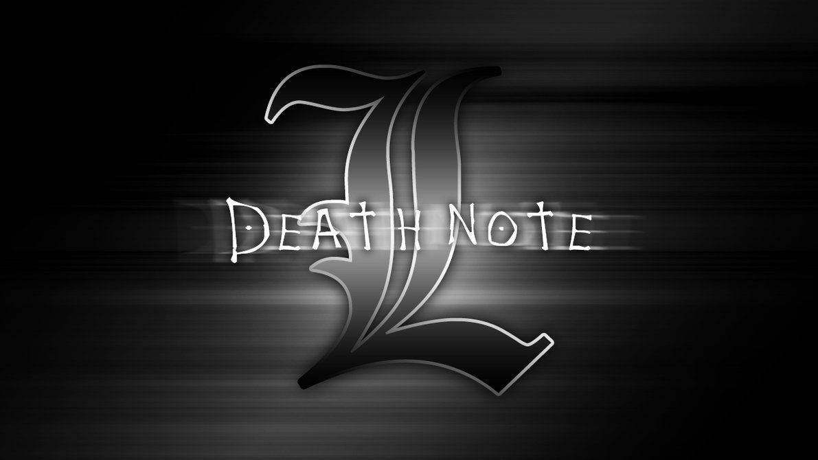 1191x670 Death Note Wallpapers L Group (77+)