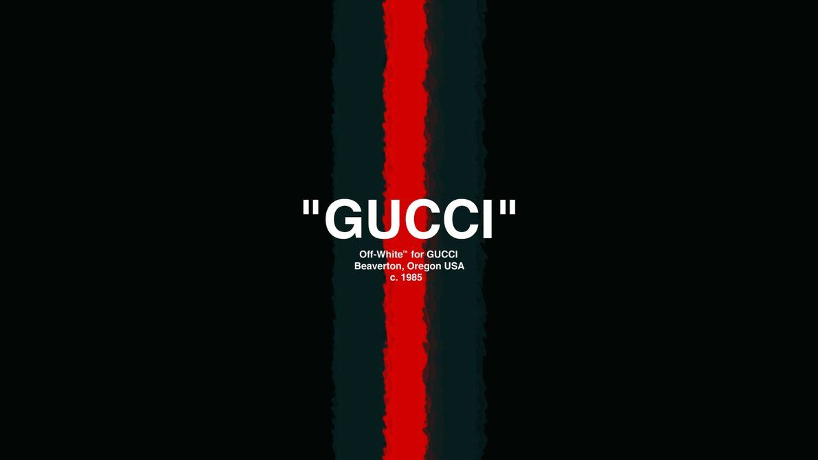1191x670 Offwhite-x-gucci-wallpaper by vxyzzz on DeviantArt