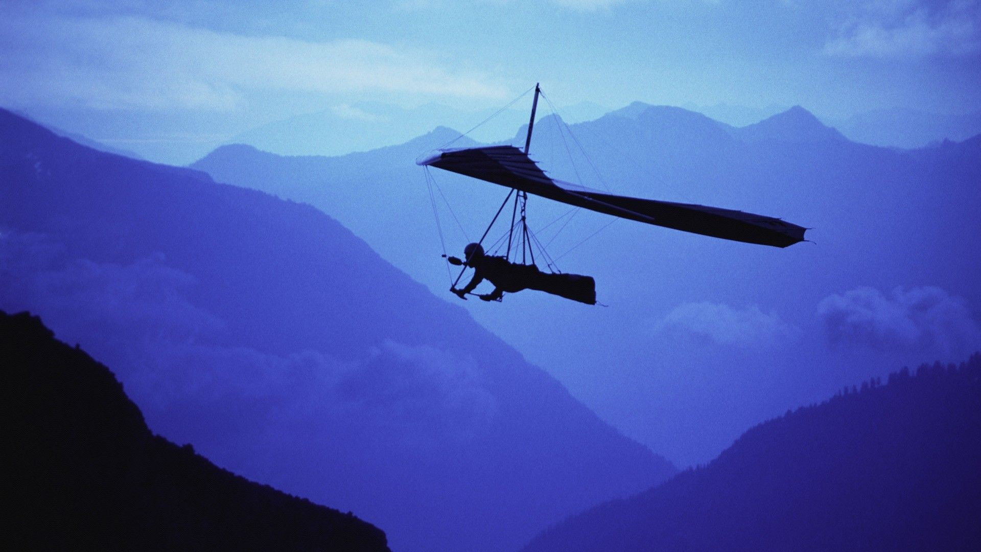 1920x1080 Image detail for -Hang glider over the mountains | Wallpapers To ...