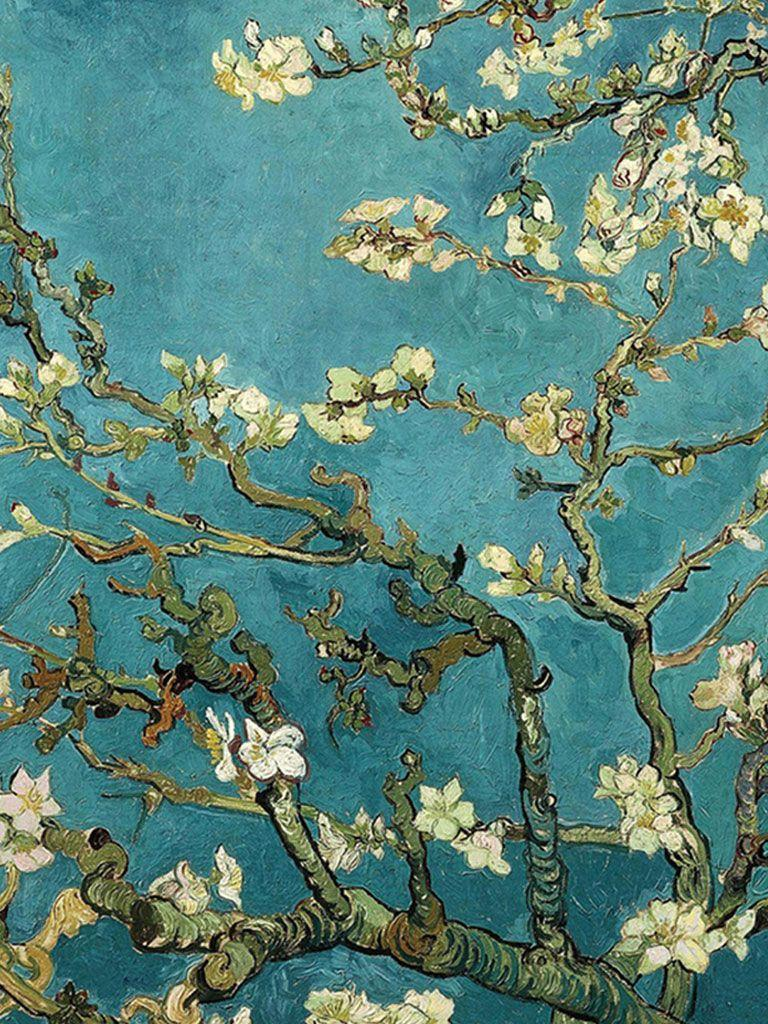 768x1024 Van Gogh Blossom Wallpapers