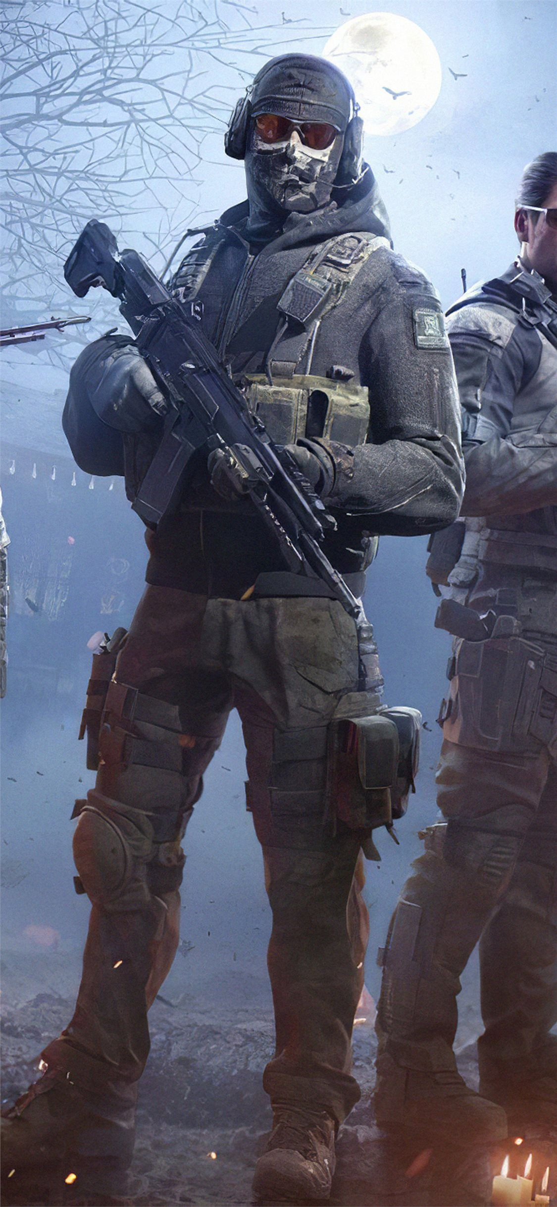 1125x2436 call of duty mobile 2019 game iPhone X Wallpapers Free Download