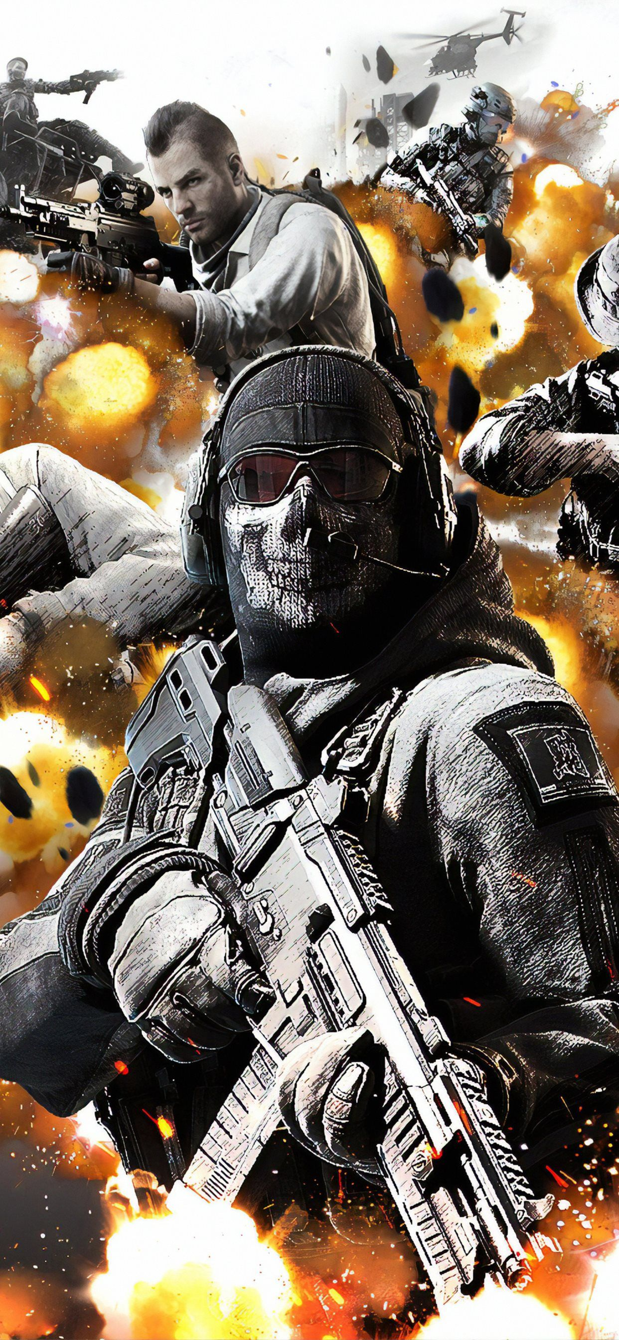 1242x2688 call of duty mobile 4k iPhone Wallpapers Free Download
