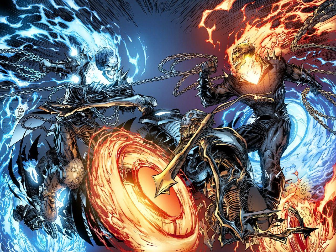 1280x960 Blue Ghost Rider Wallpapers HD
