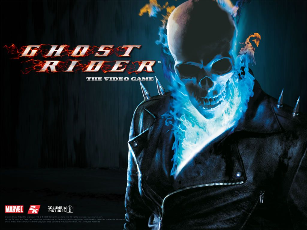 1024x768 blue ghost rider - The Ghost Rider Wallpaper (36470568) - Fanpop ...