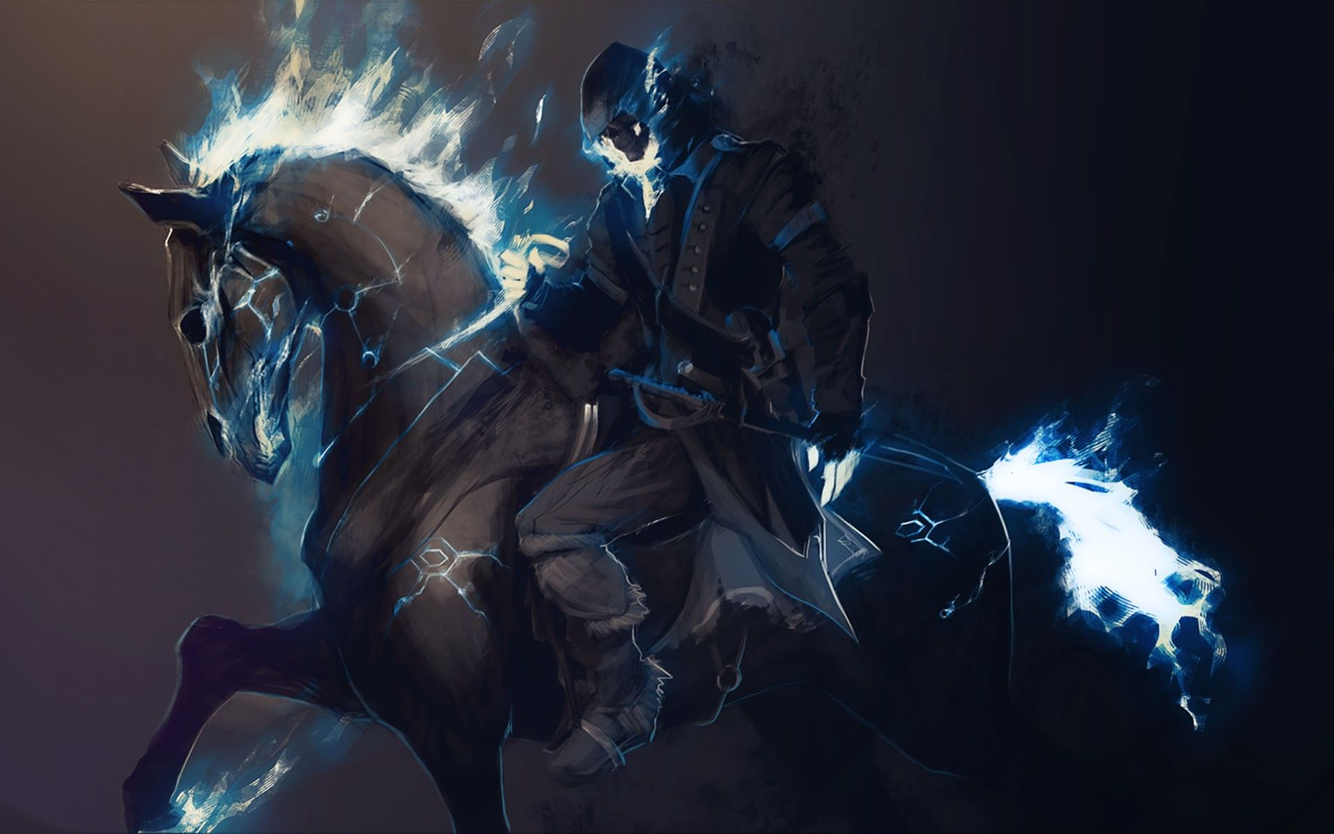 1920x1200 Free download Blue Ghost Rider Wallpaper wallpaper wallpaper hd ...
