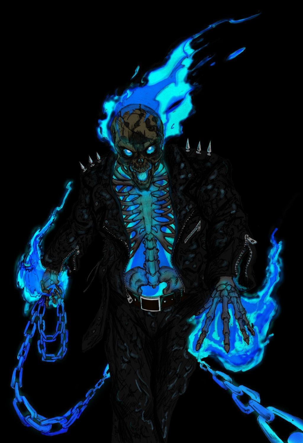 1024x1496 Free download Danny Ketch Ghost Rider by ConstantM0tion [1024x1496 ...