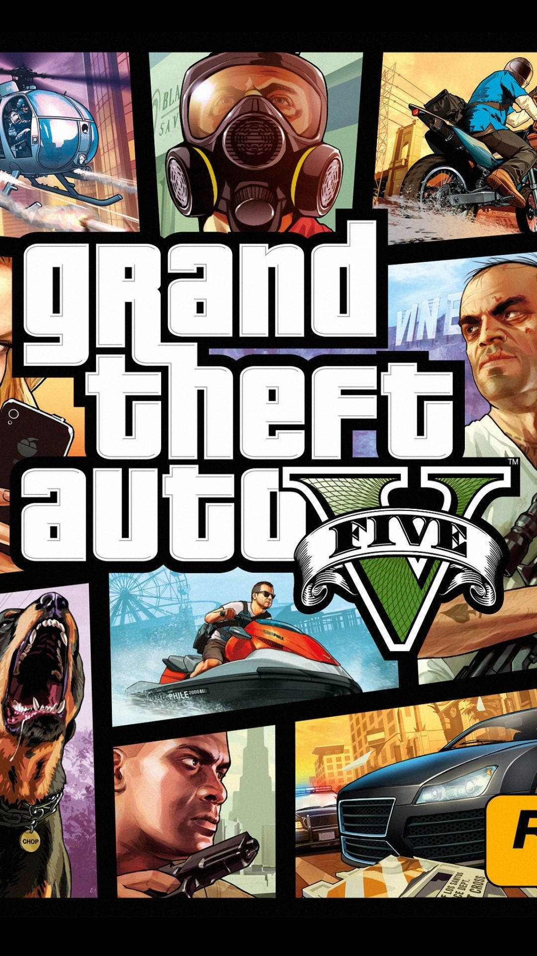 1080x1920 Grand Theft Auto 5 Phone Wallpapers