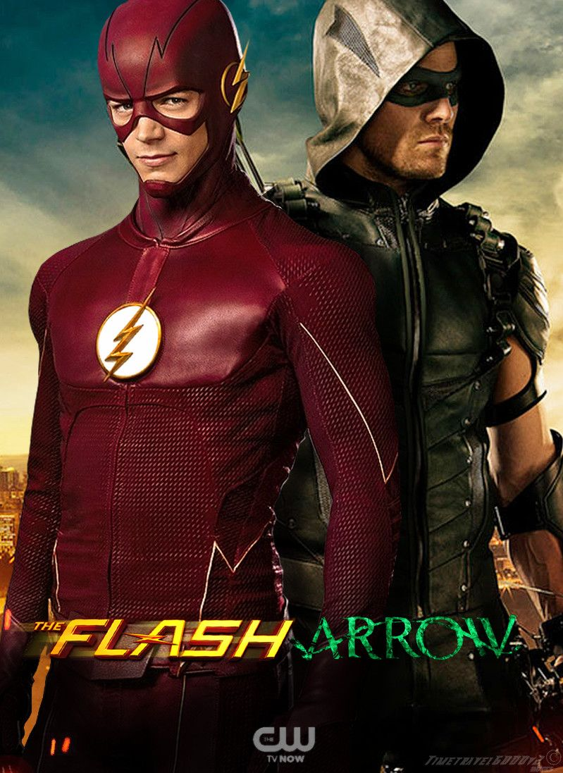 799x1097 The Flash and Green Arrow CW TV Poster by Timetravel6000v2 on DeviantArt