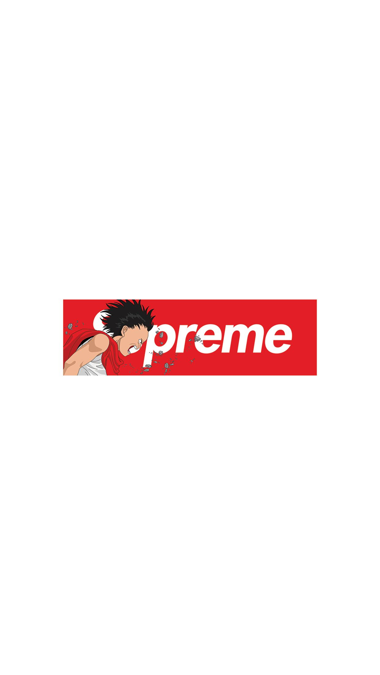 1242x2208 Supreme x Akira iPhone Wallpapers: Download Here