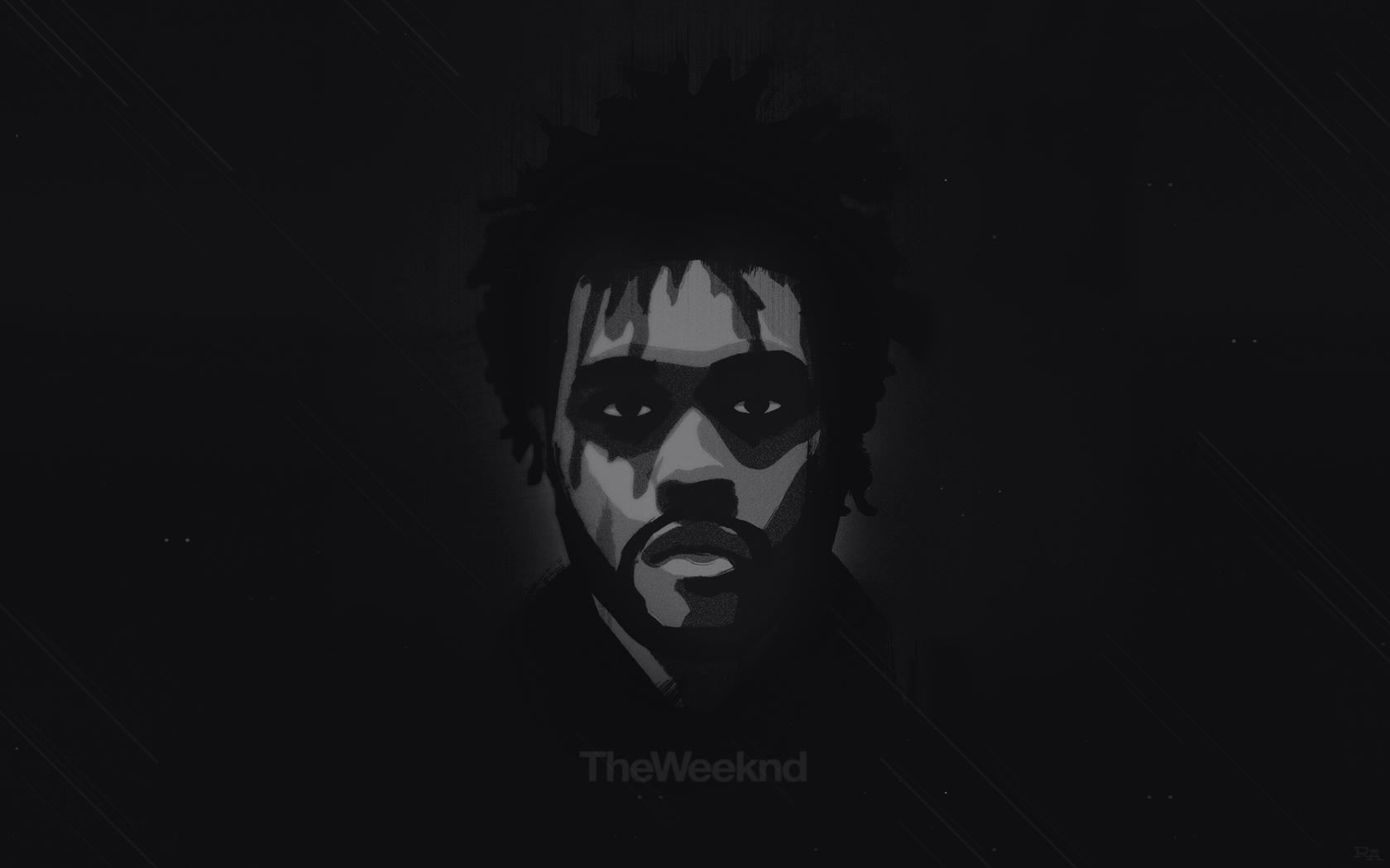 1680x1050 The Weeknd Wallpapers