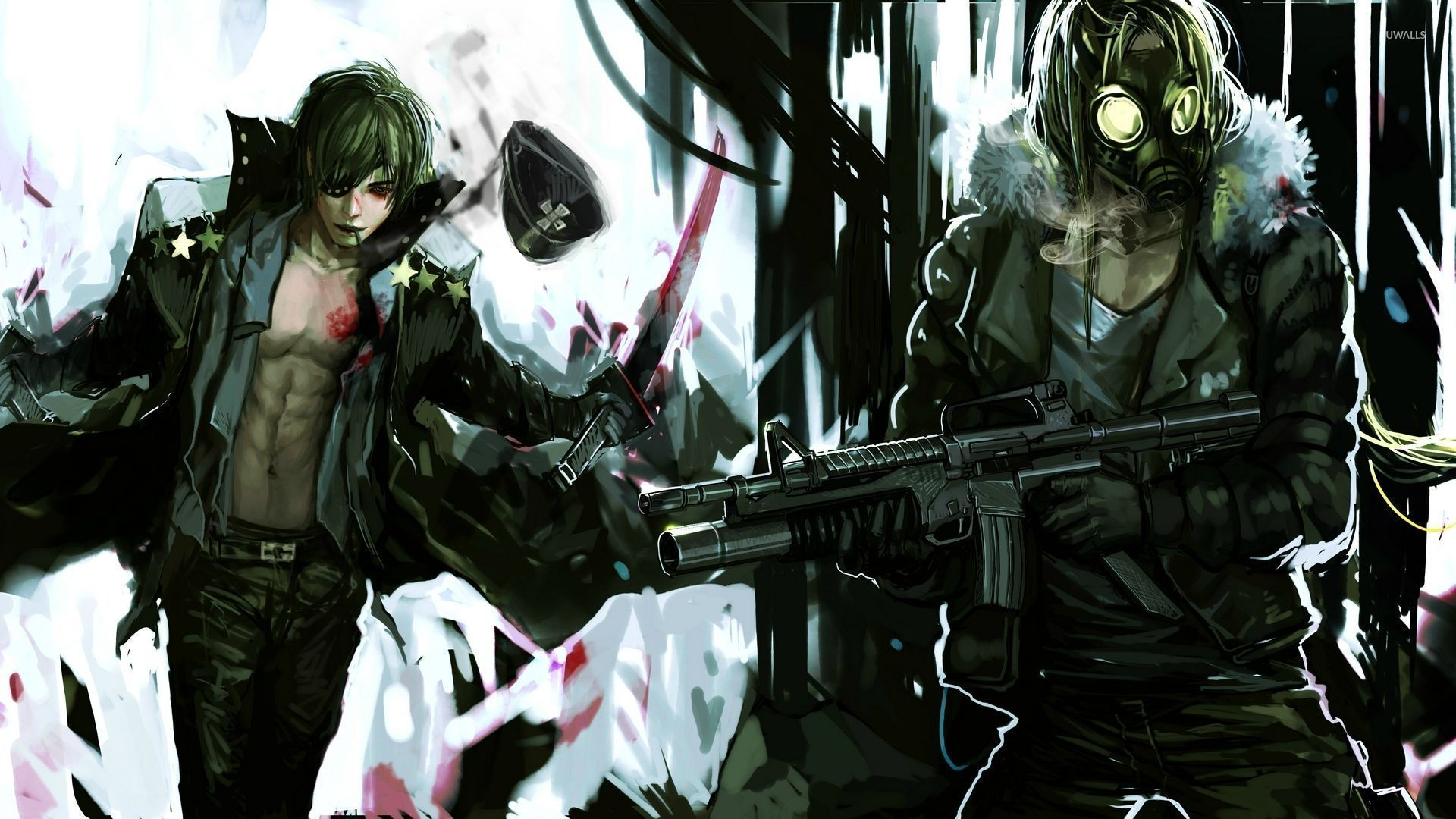 1920x1080 Anarchist anime guys wallpaper - Anime wallpapers - #28722