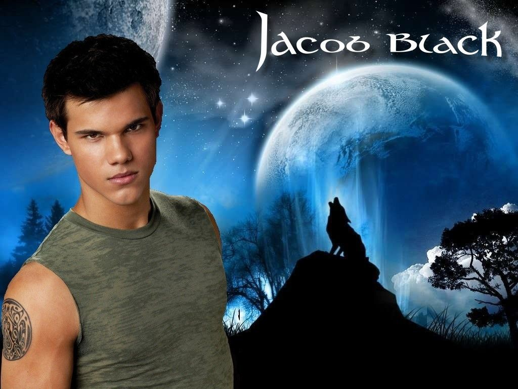 1024x768 Free download Twilight Series images Jacob Black Wolf wallpaper ...