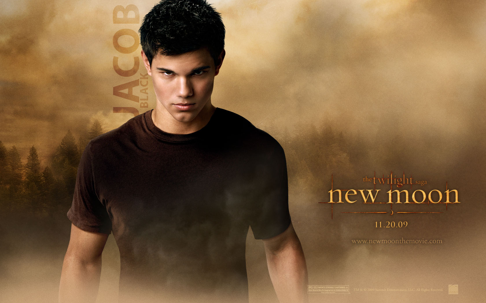 1680x1050 Twilight New Moon: Jacob Desktop Wallpaper
