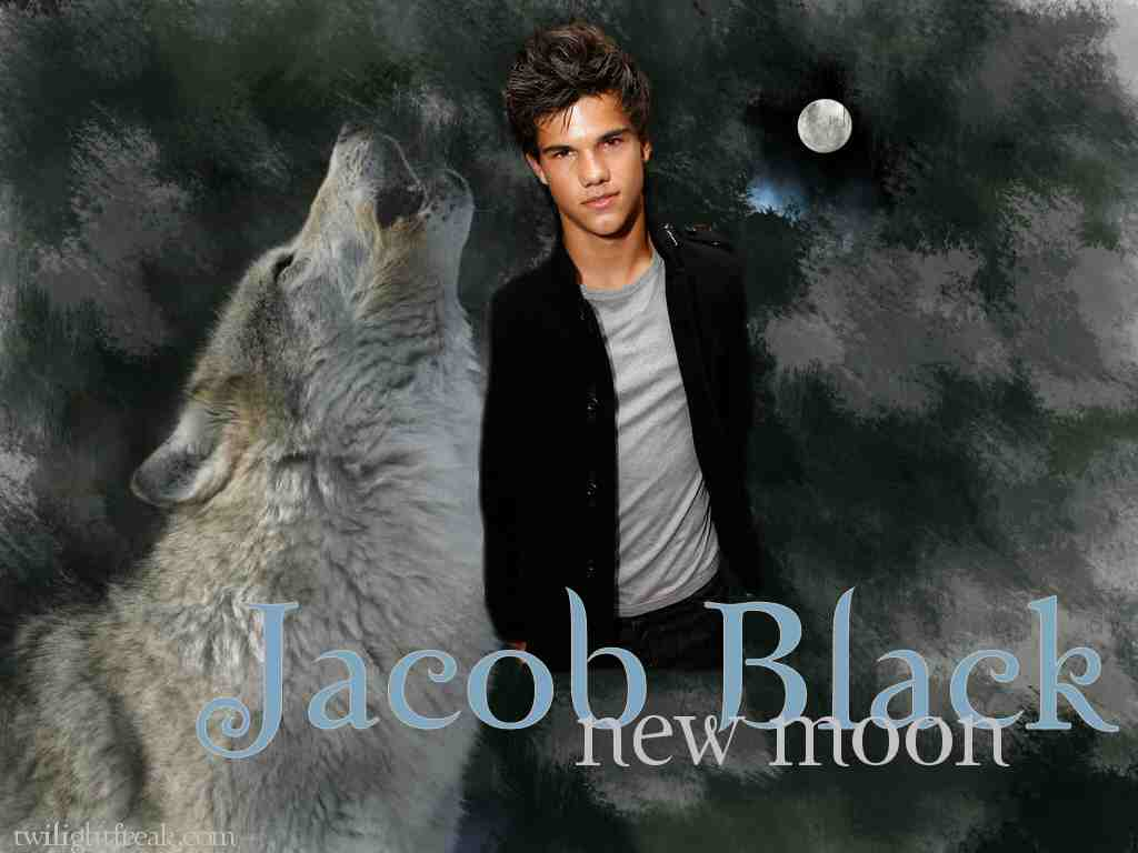 1024x768 New Moon Jacob Black Werewolf Wallpaper - Free Wallpaper