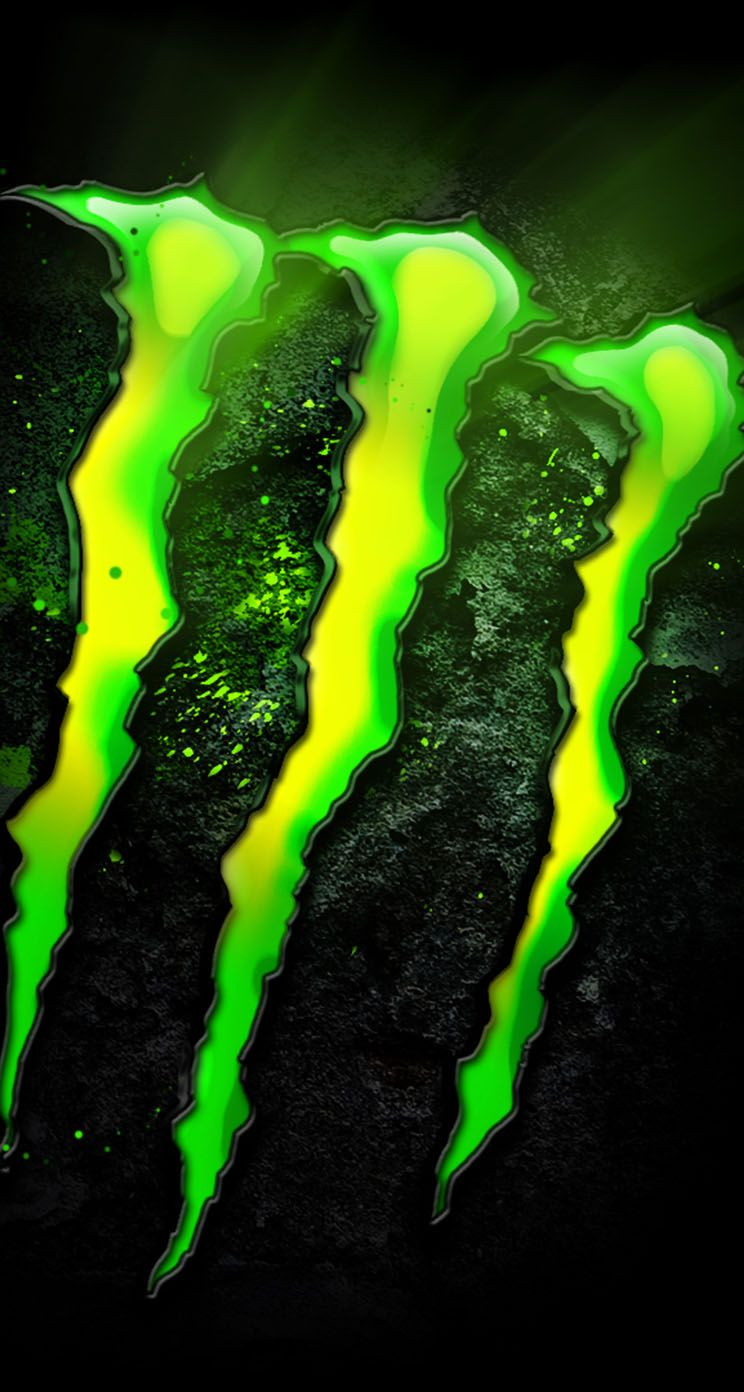 744x1392 Monster Energy Logo - The iPhone Wallpapers