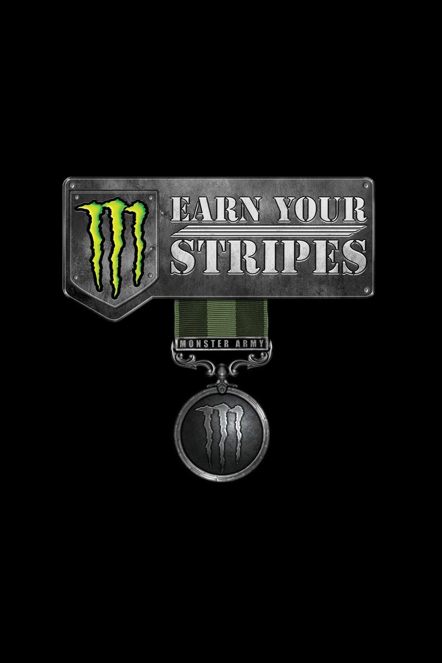 900x1350 Monster Army Earn Your Stripes by chev327fox on DeviantArt