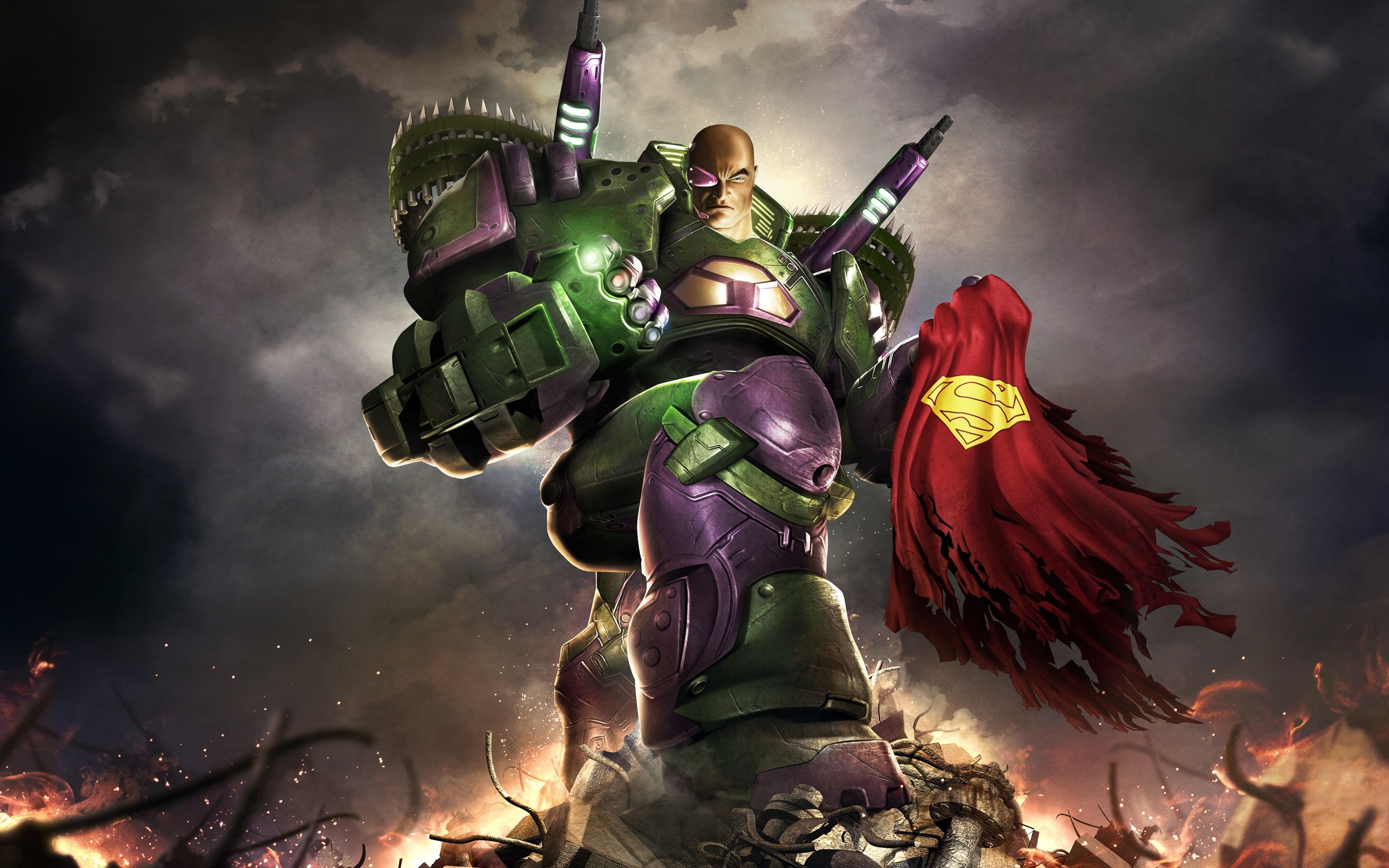 2880x1800 Lex Luthor DC Universe Online Wallpapers in jpg format for free download