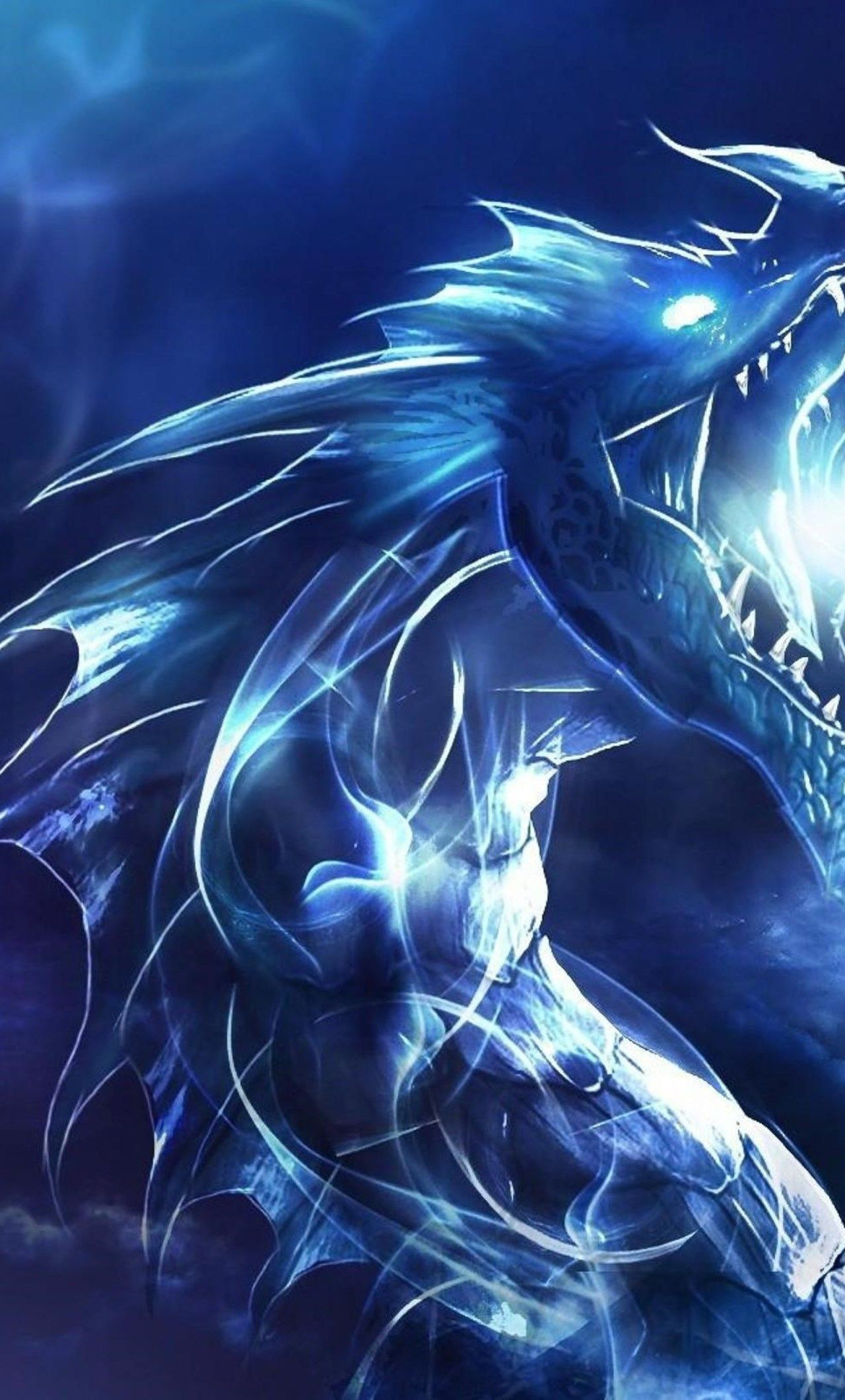 1280x2120 1280x2120 Blue Dragon iPhone 6+ HD 4k Wallpapers, Images ...
