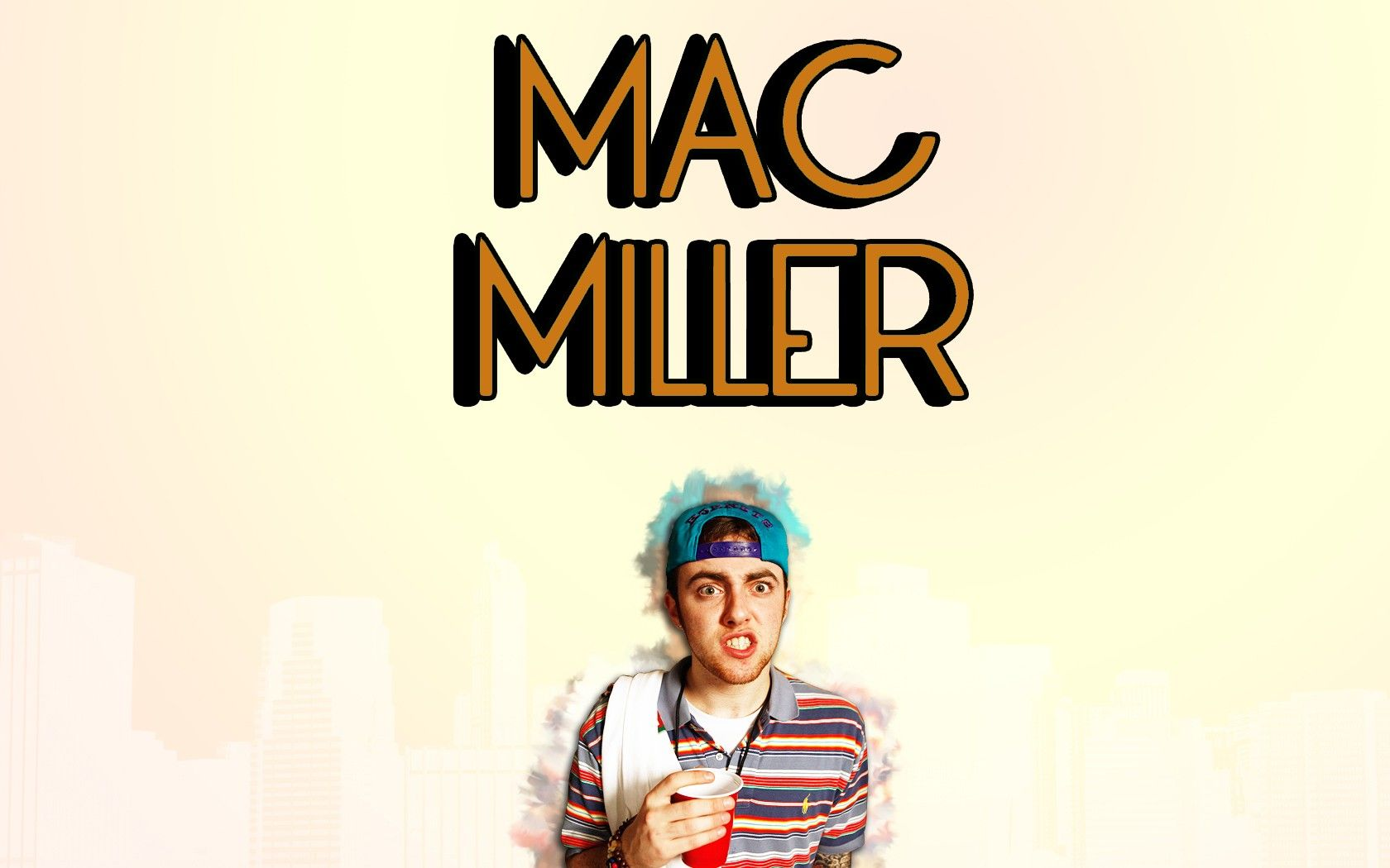 1680x1050 Mac Miller Wallpapers Group with 38 items