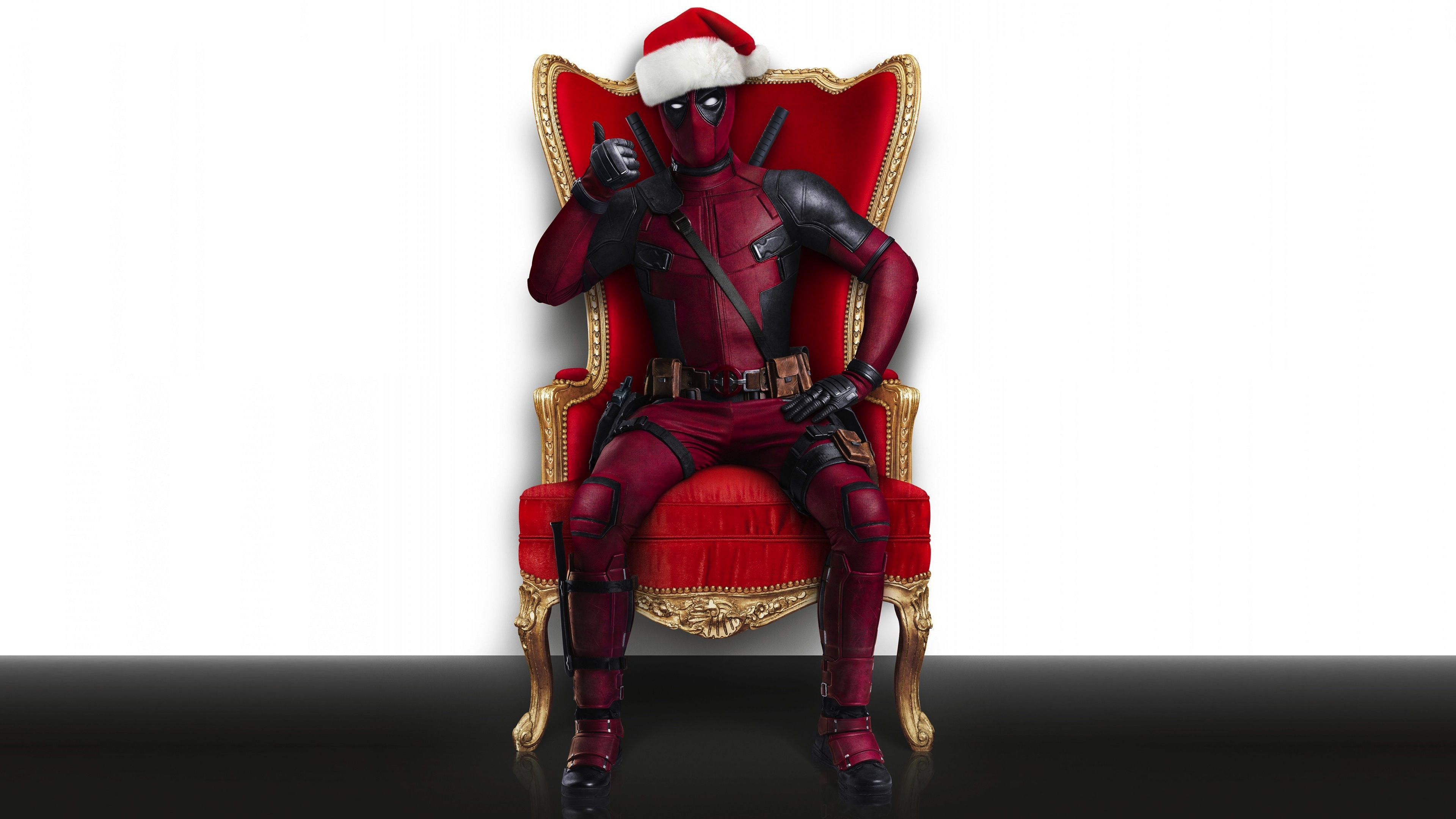 3840x2160 Deadpool Christmas, HD Movies, 4k Wallpapers, Images, Backgrounds ...