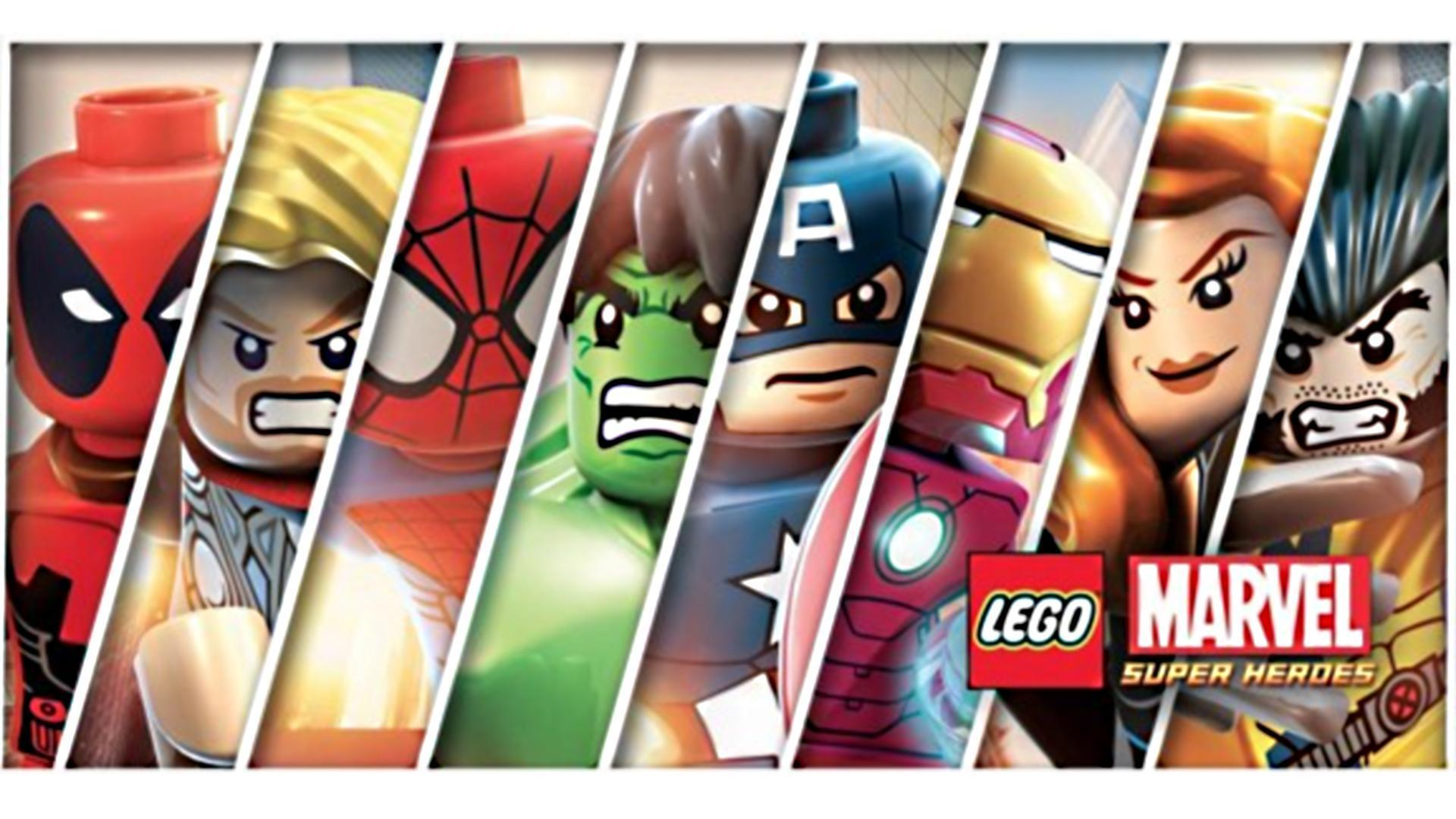 1920x1080 Lego Superheroes Wallpapers