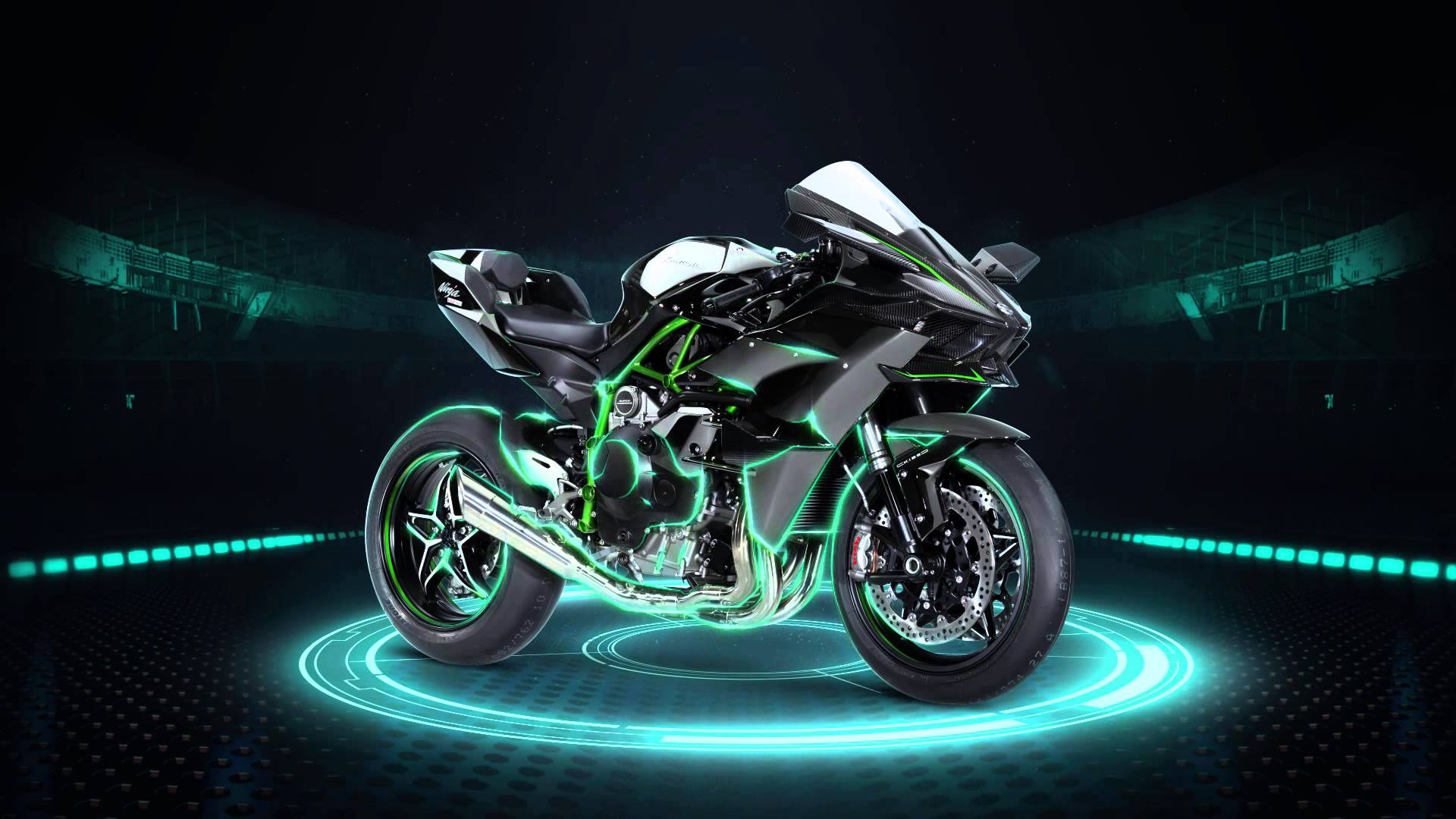 1920x1080 The Ninja H2R Wallpapers