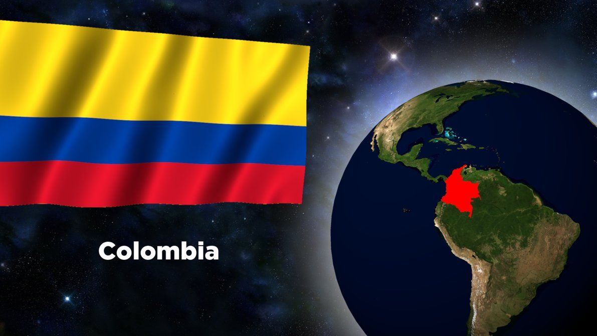 1191x670 Flag Wallpaper - Colombia by darellnonis on DeviantArt