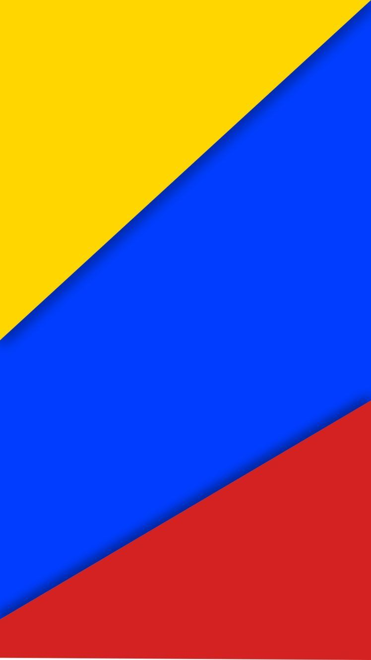 748x1330 colombia, Material style, Flag HD Wallpapers / Desktop and Mobile ...