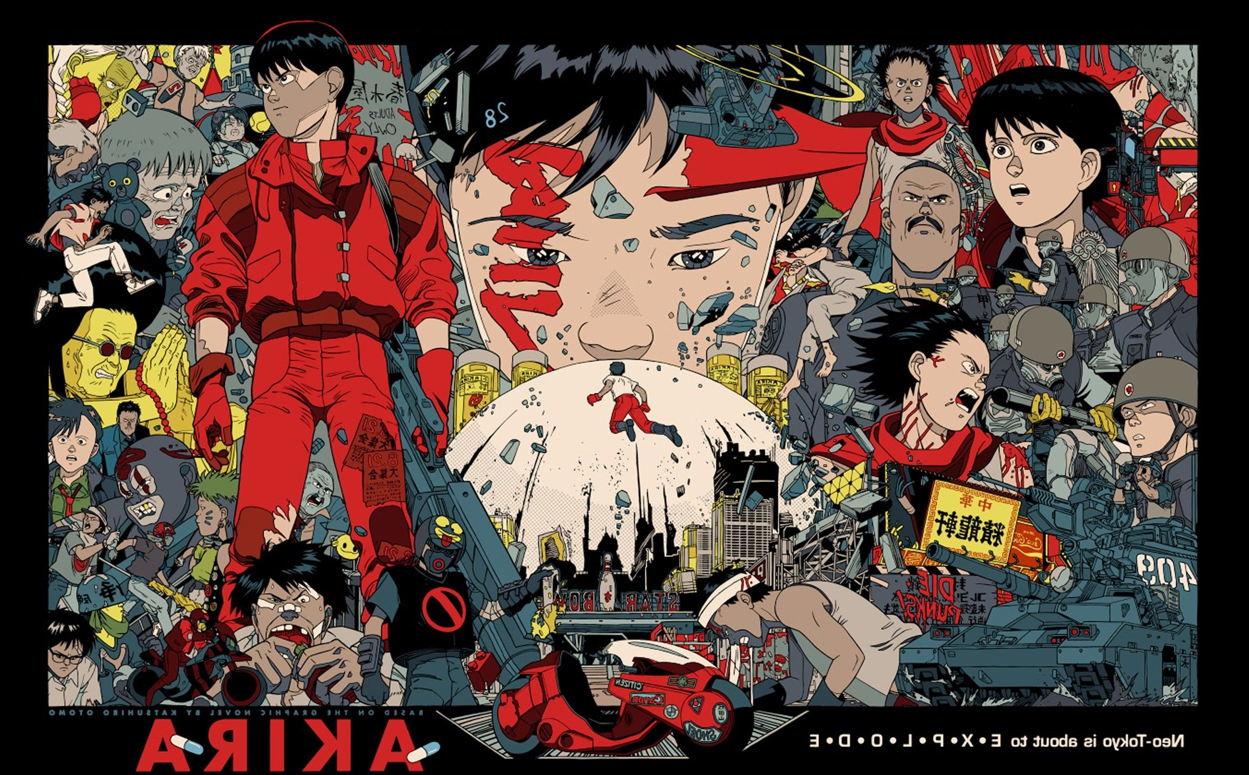 2500x1552 Akira, Anime, Japan, Katsuhiro Otomo Wallpapers HD / Desktop and ...