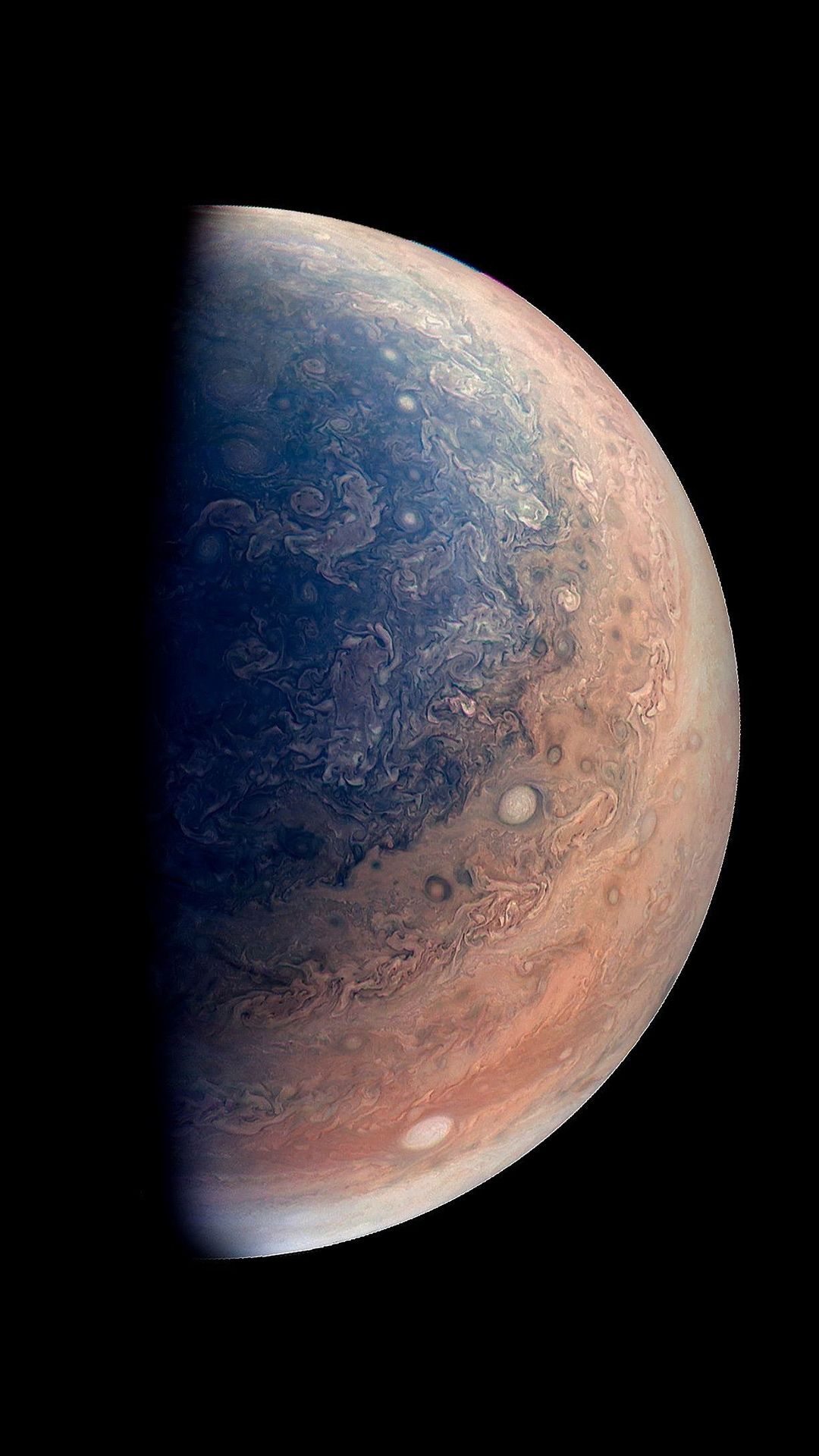 1080x1920 Jupiter Planet As Seen By NASAs Juno Spacecraft #iPhone #6 ...