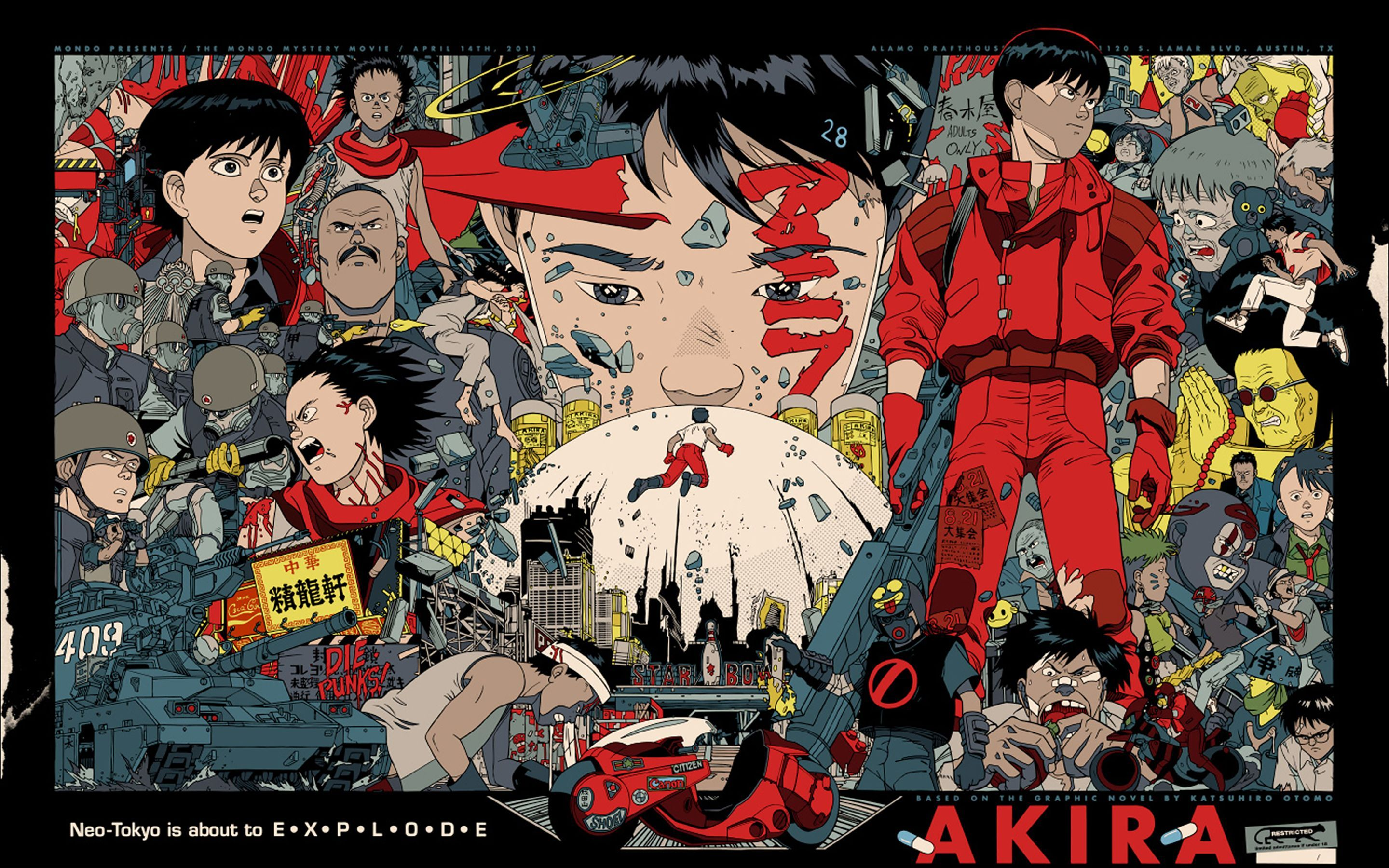 2880x1800 AKIRA – アキラ | Free 2880x1800 Wallpapers for Retina | 大友克洋 ...