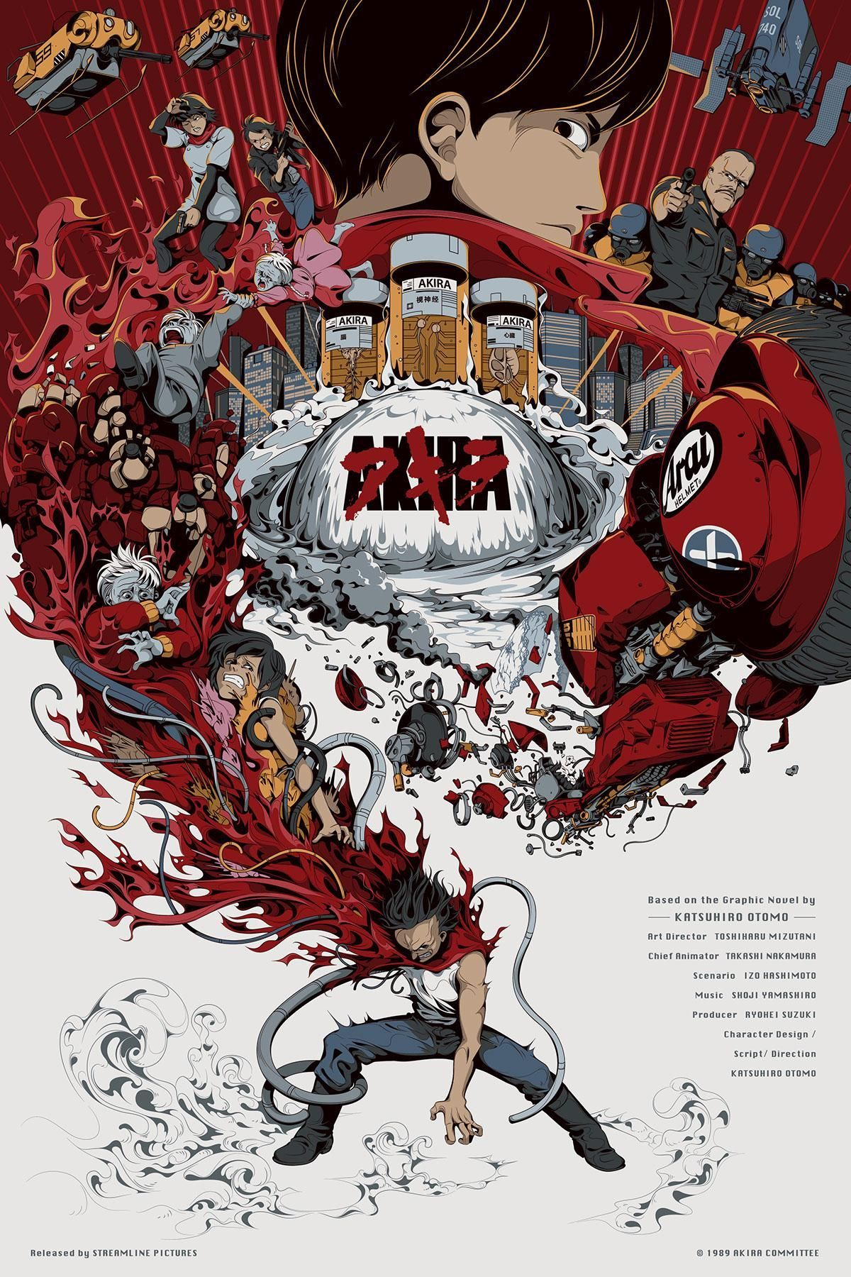 1200x1800 Akira (1988) HD Wallpaper From Gallsource.com | Movie posters ...