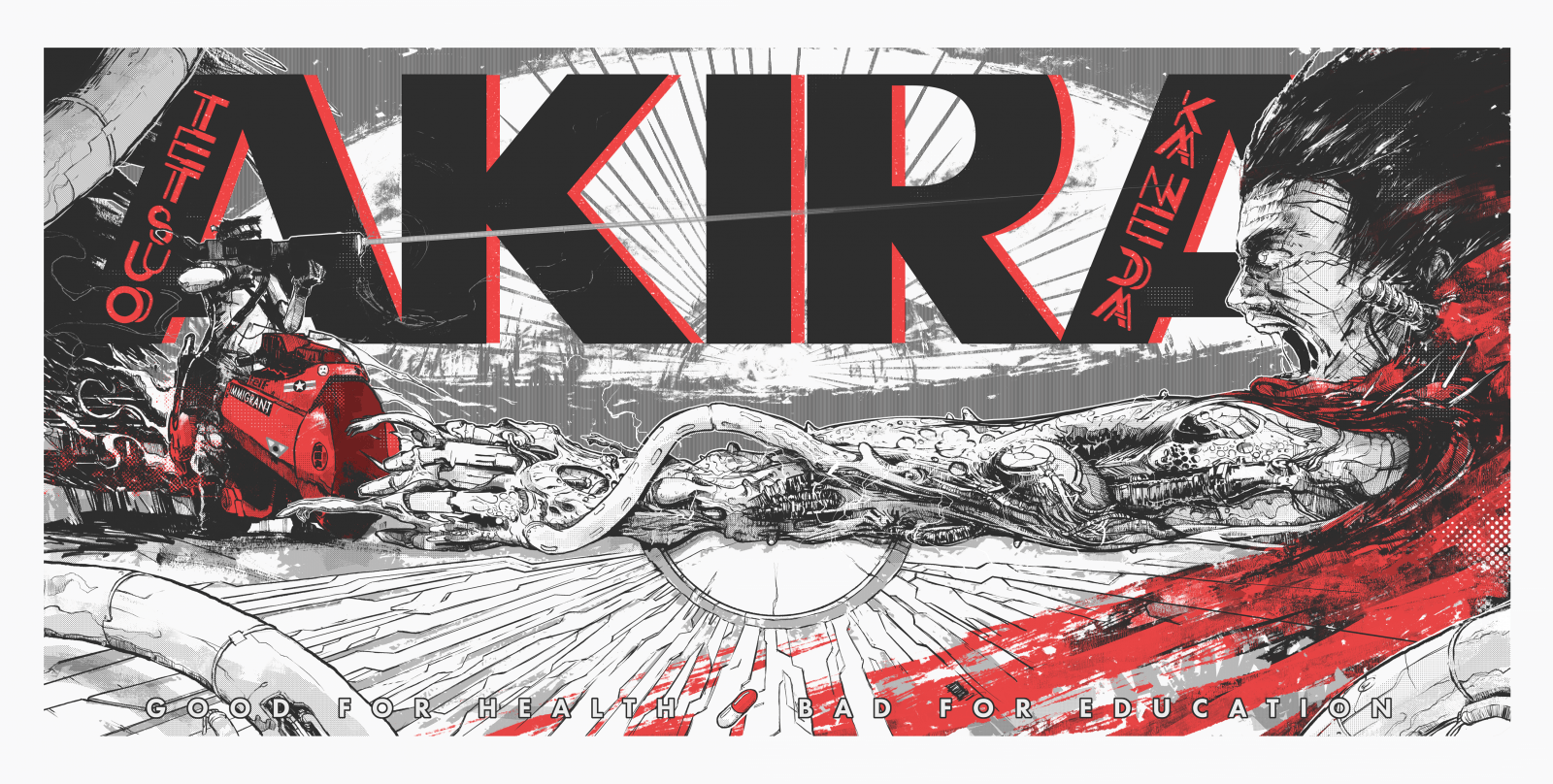 1600x808 Akira (1988) HD Wallpaper From Gallsource.com | Movie posters ...