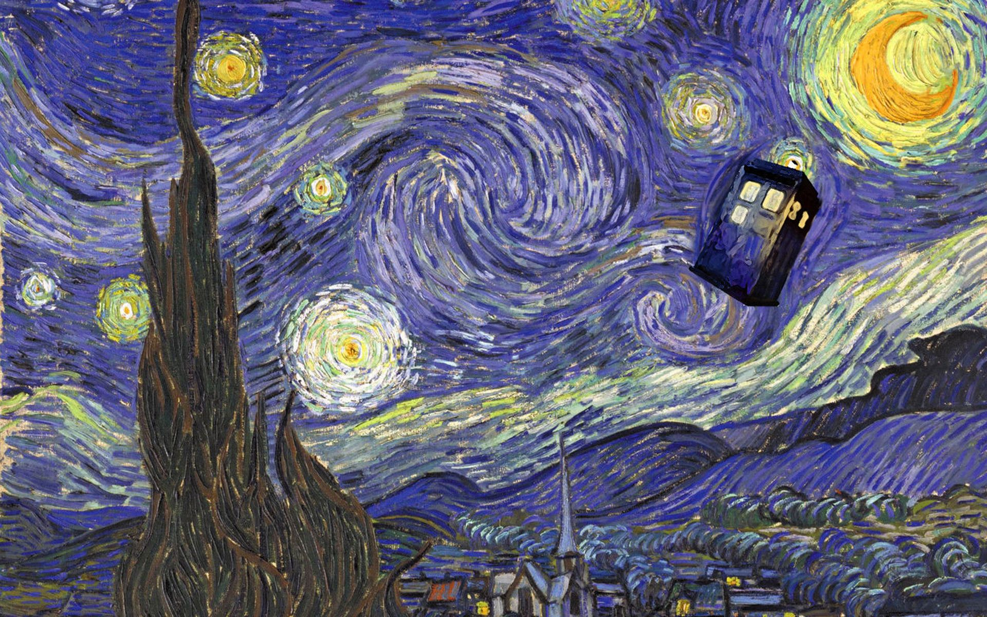 1920x1200 Doctor Who Starry Night Wallpaper (53+ images)