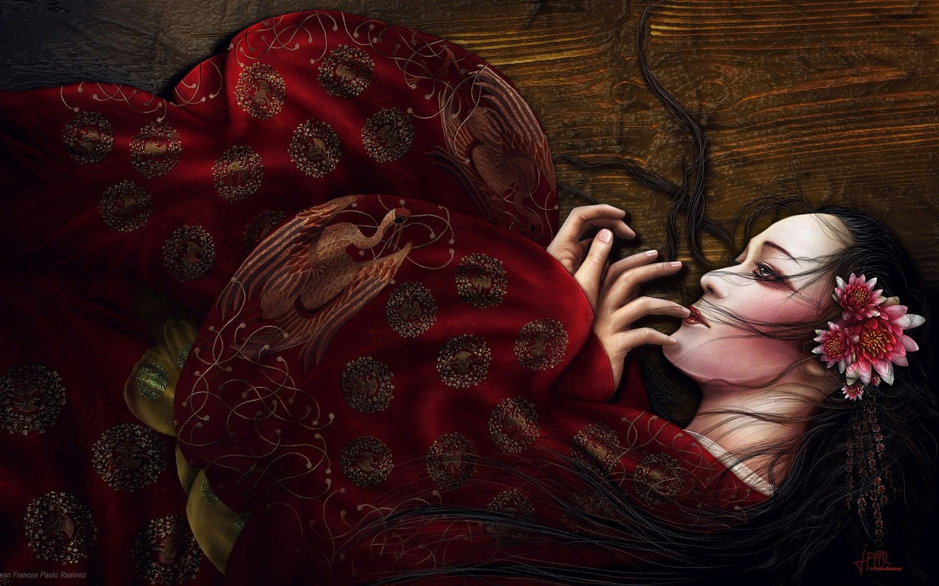 1920x1200 21 Geisha Hd Wallpapers Backgrounds Wallpaper Abyss Background ...