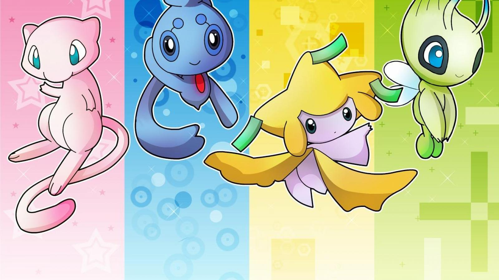 1600x900 Mew (pokemon) images 4 Amigos HD wallpaper and background photos ...