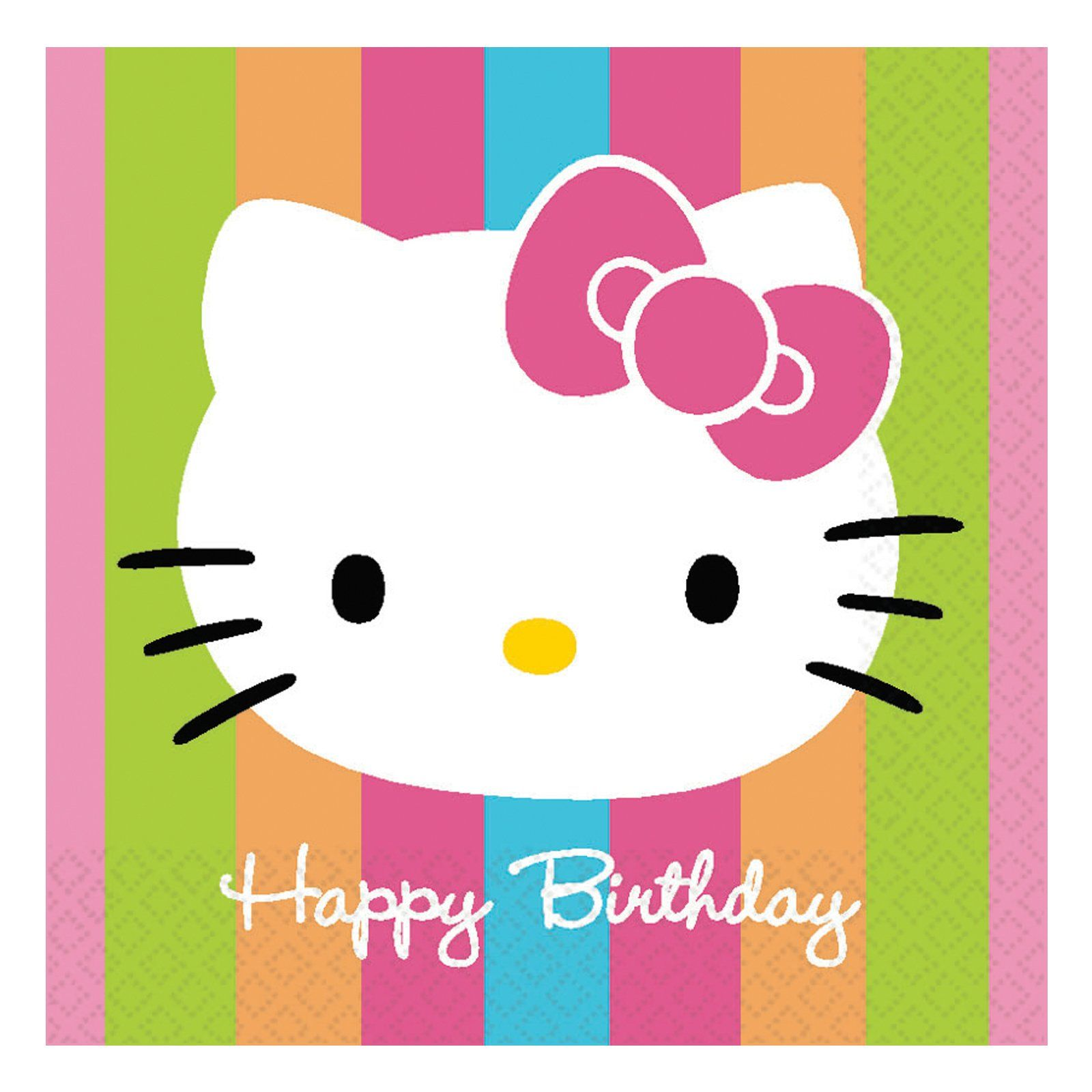 1600x1600 Hello Kitty Birthday HD Wallpaper, Background Images