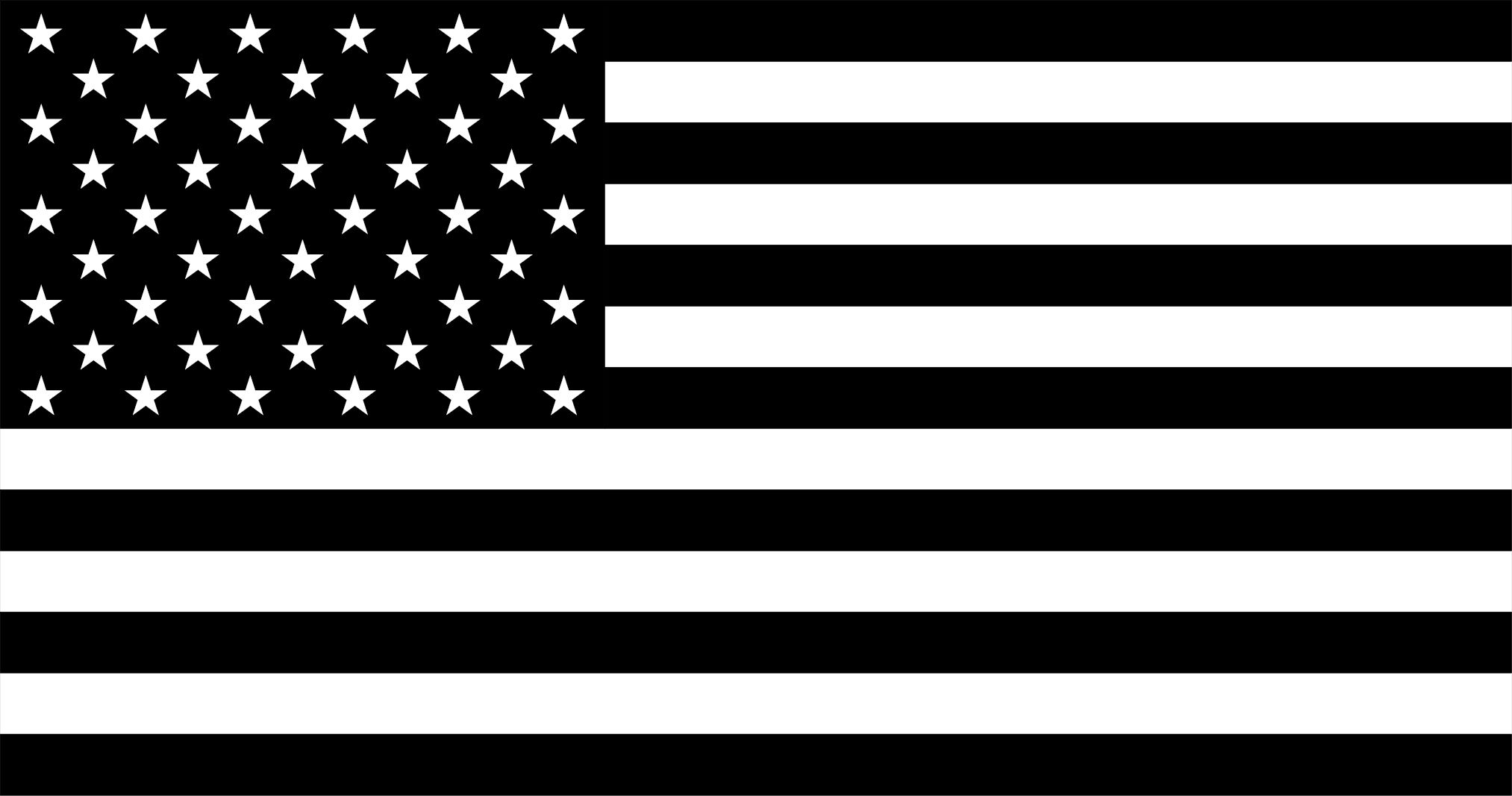 2026x1067 Black And White American FlagWORLD Of FLAGS | WORLD Of FLAGS
