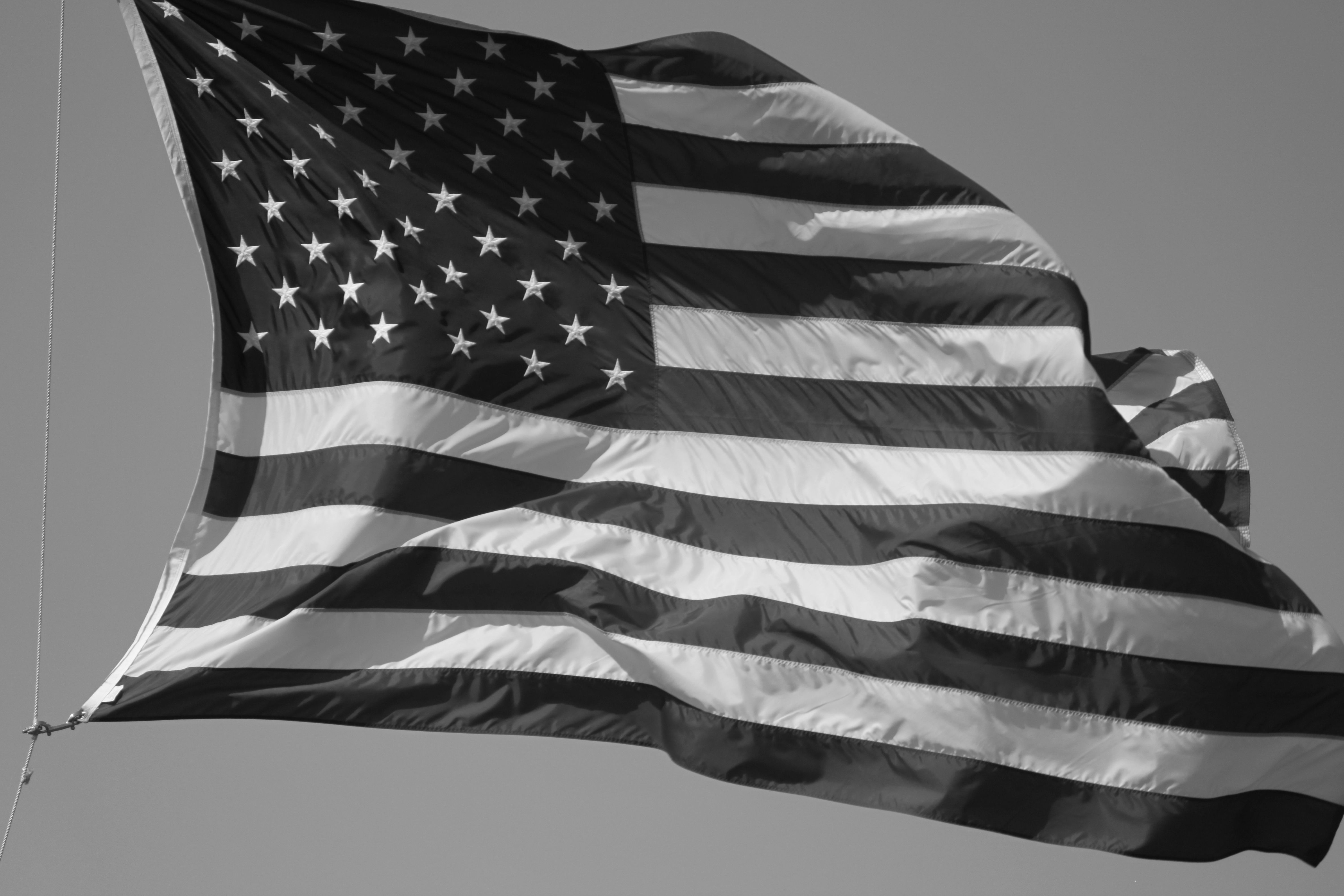 4752x3168 Black and White American Flag Wallpaper HD Wallpaper | Others Wallpapers