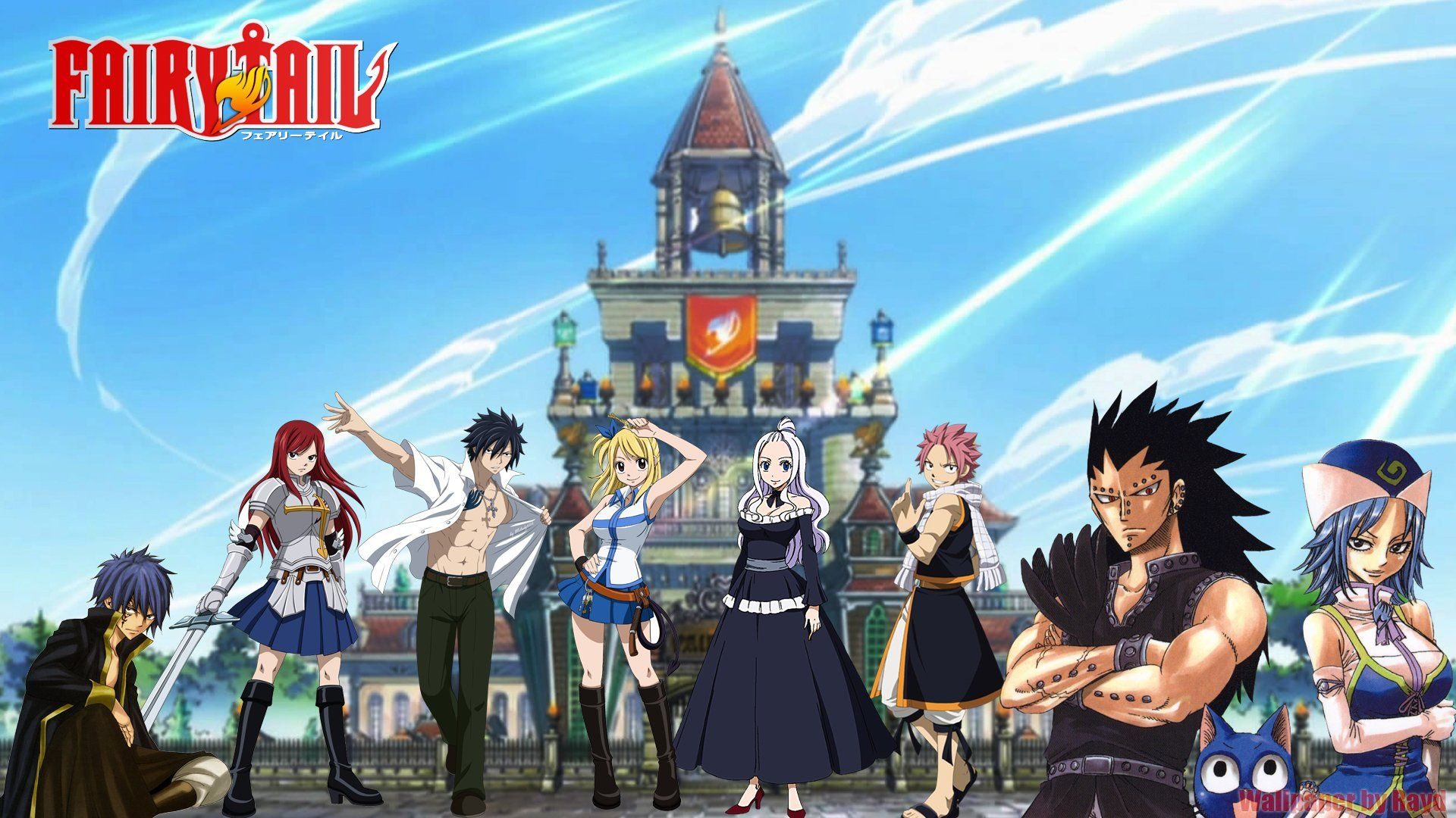 1920x1080 933 Fairy Tail HD Wallpapers | Background Images - Wallpaper Abyss
