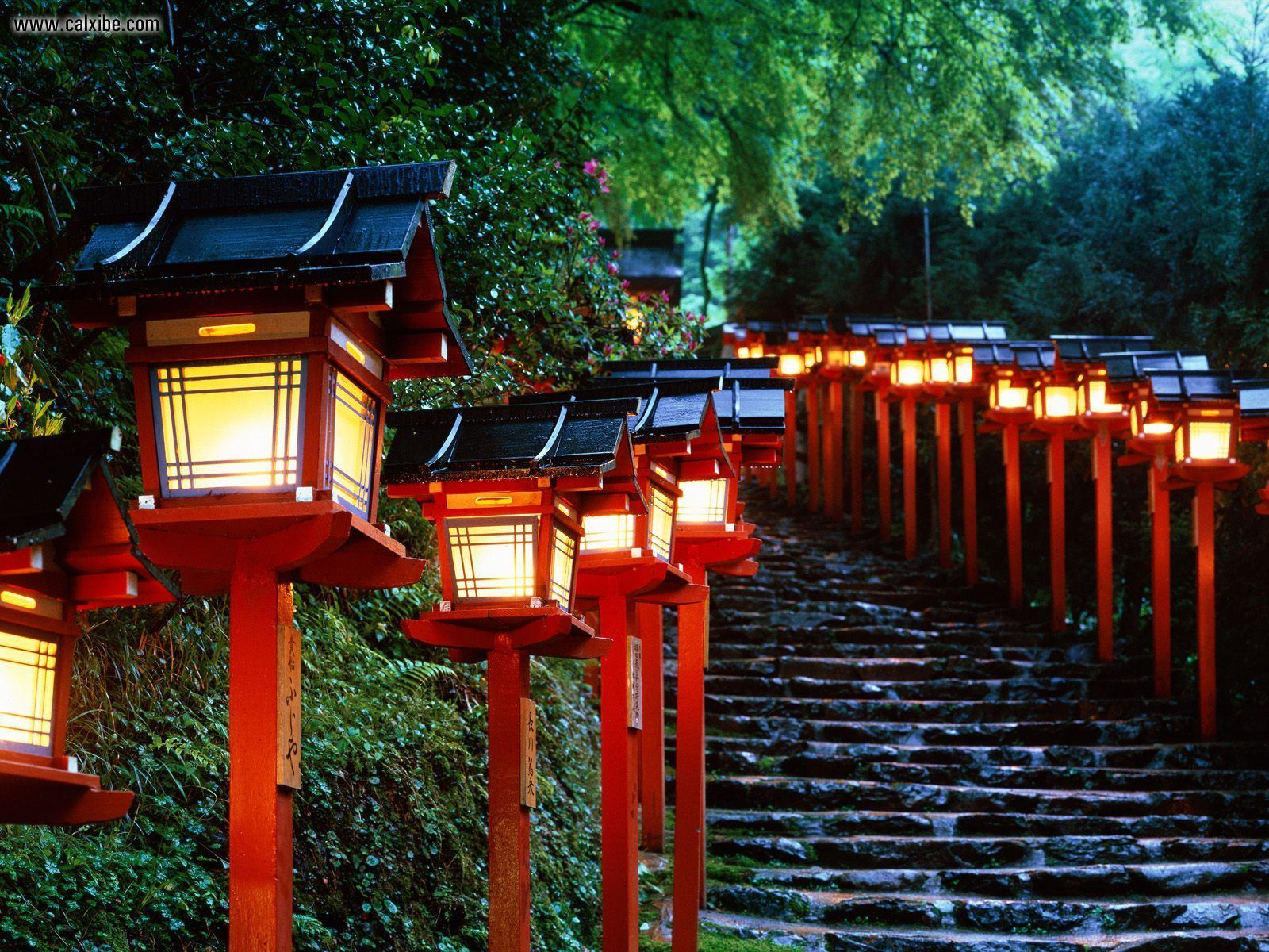 1600x1200 Known places: Kibune Shrine Kyoto Japan, desktop wallpaper nr. 4213