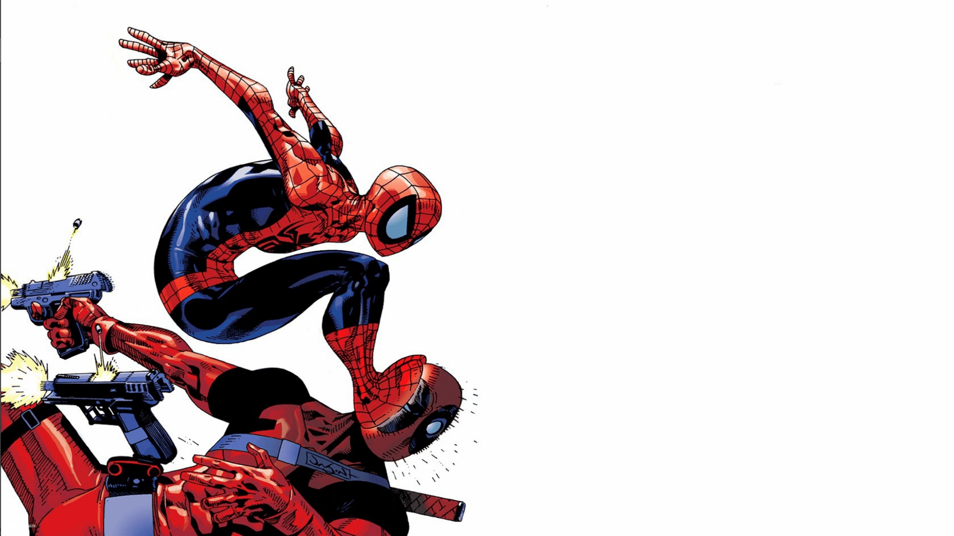 1920x1080 Free Deadpool Spiderman Wallpapers Picture « Long Wallpapers