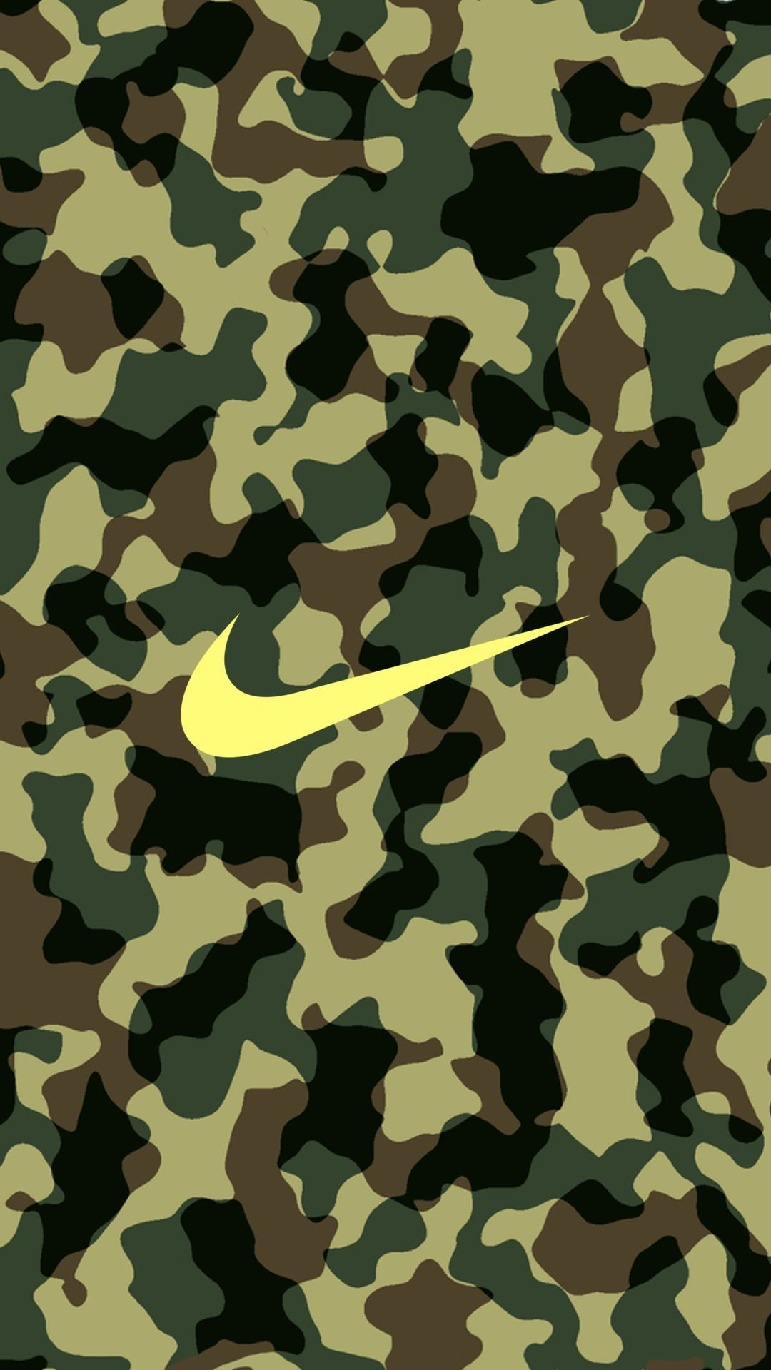 1080x1920 NIKE Logo Camouflage iPhone Wallpaper | Графика | Pinterest | Nike ...