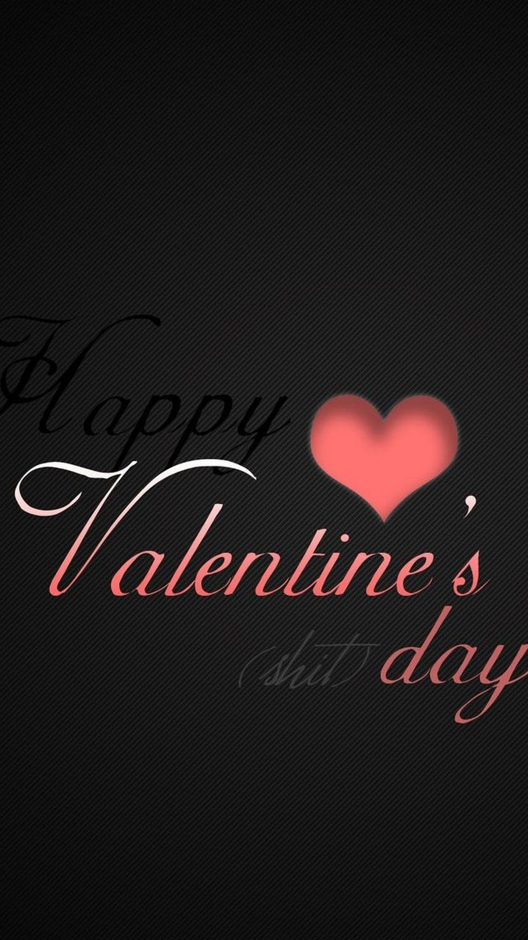 1080x1920 Valentine Day iPhone Wallpaper Black | iPhoneWallpapers ...