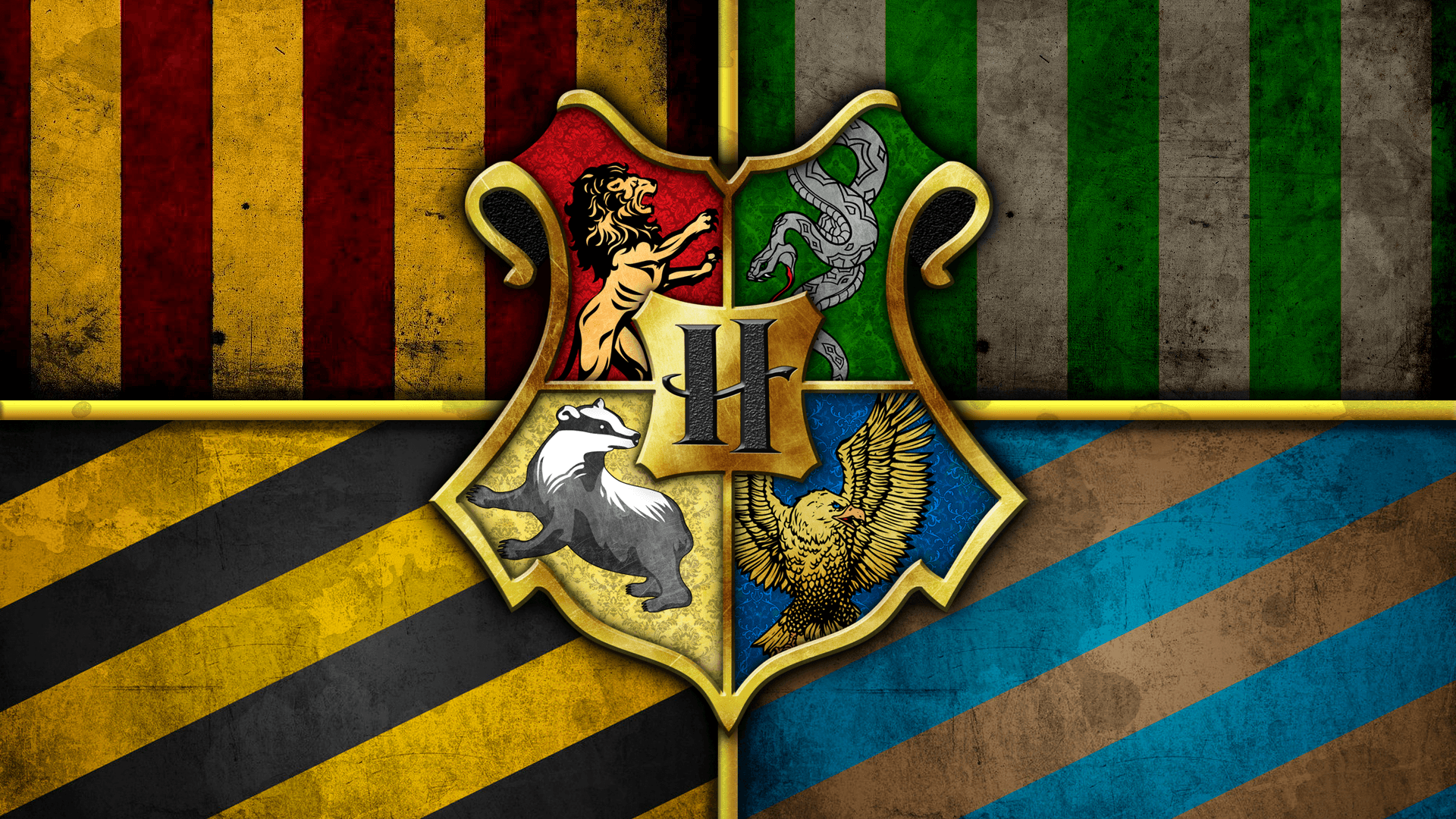 1920x1080 The Houses of Hogwarts [1920x1080] : harrypotter