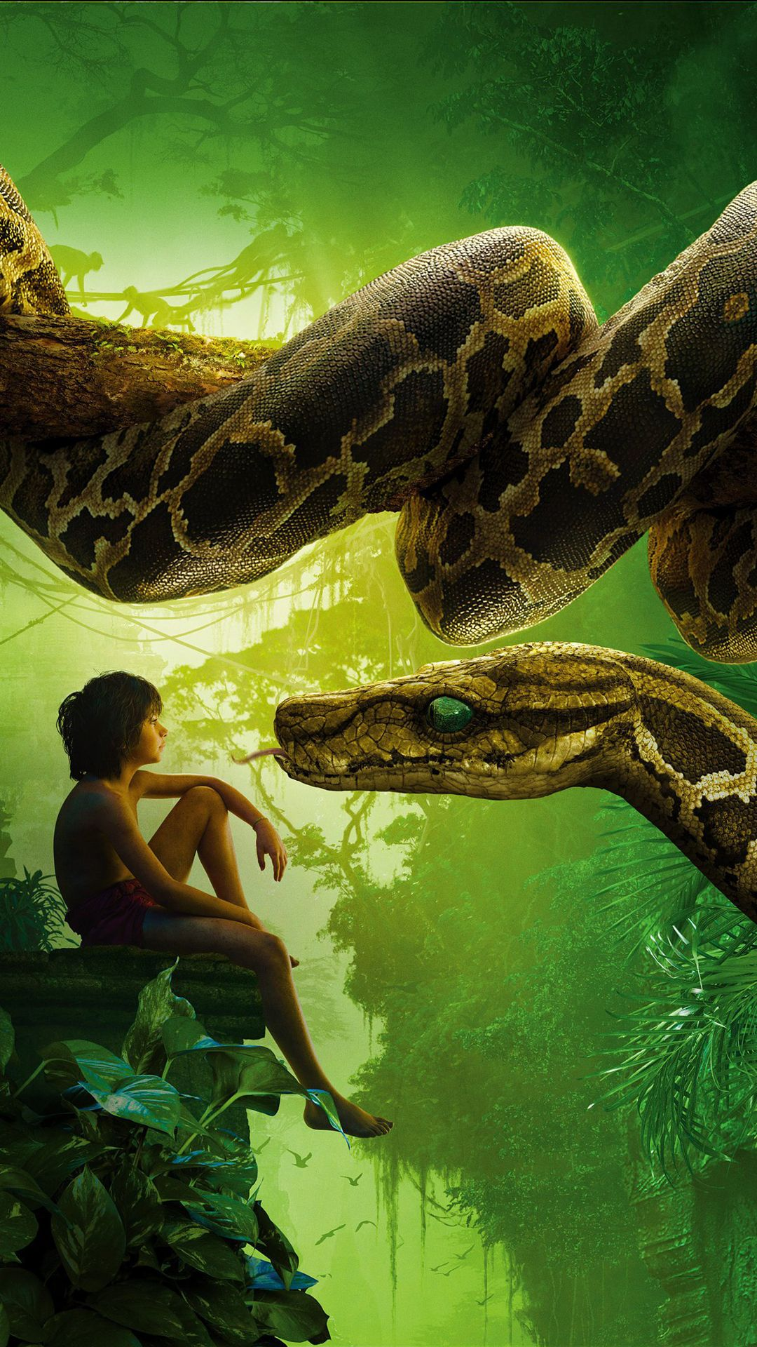 1080x1920 The Jungle Book 2016 Movie Wallpapers for iPhone - Apple Lives